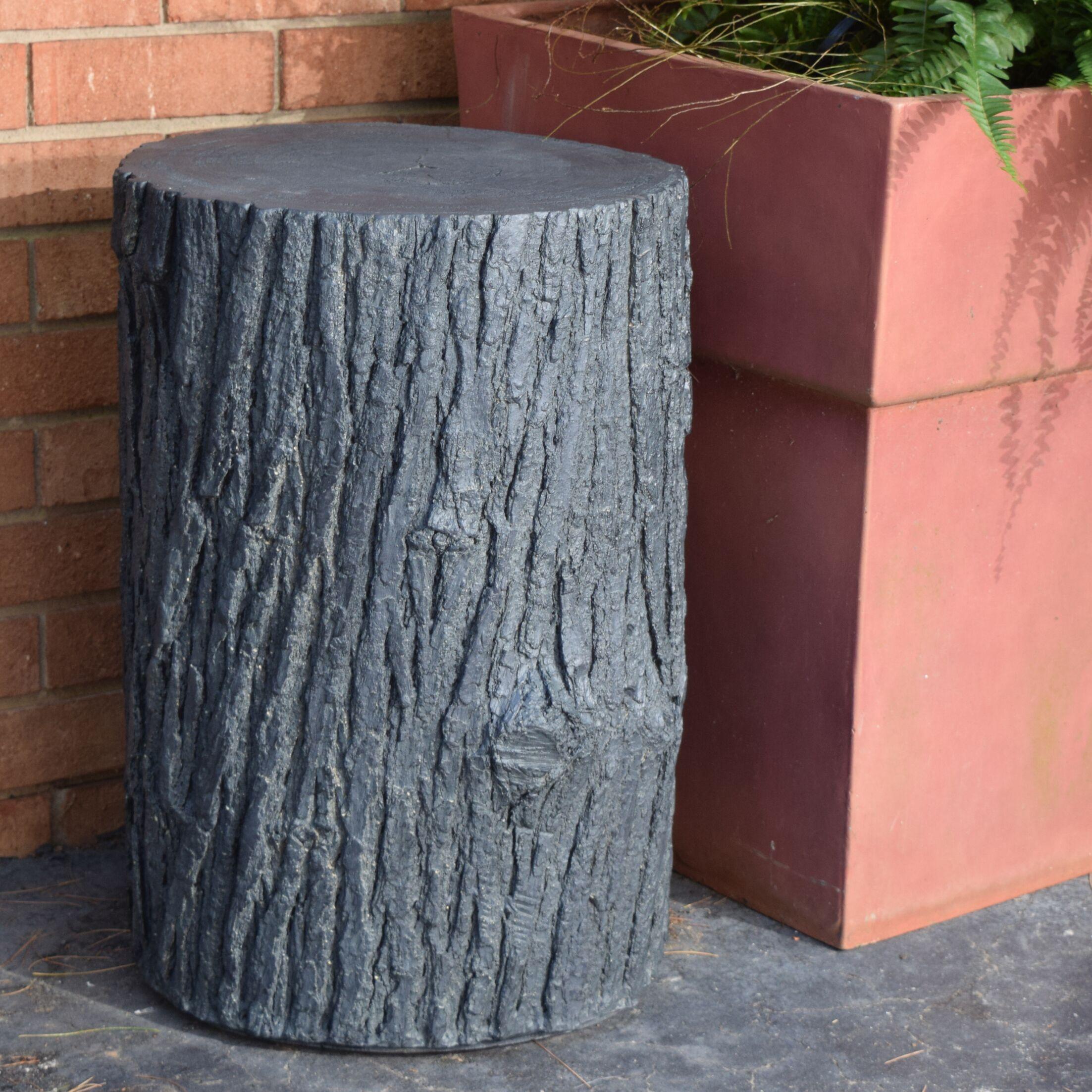 Walnut Creek Tree Stump Side Table