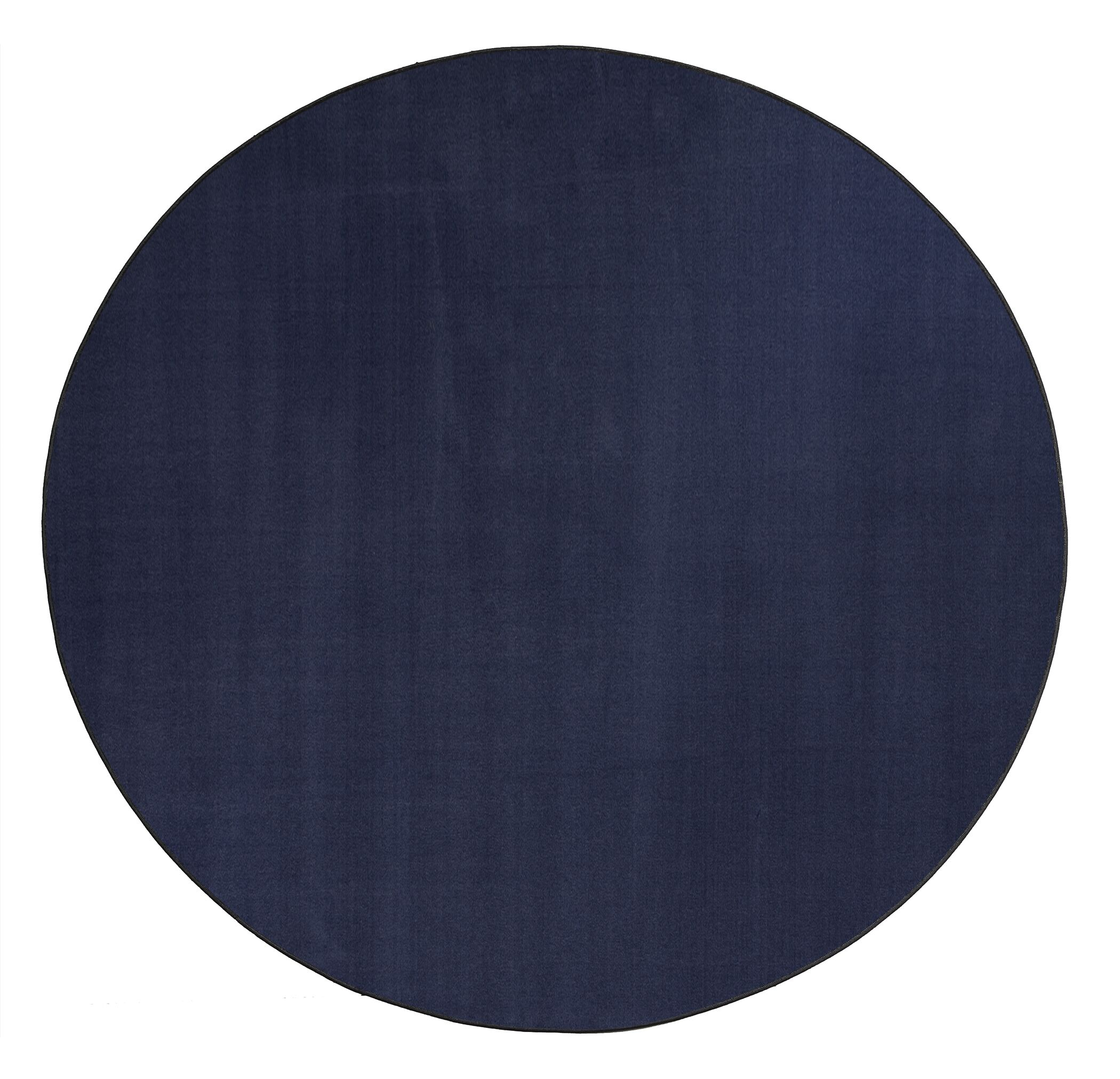 Americolors Navy Area Rug Rug Size: Round 6'