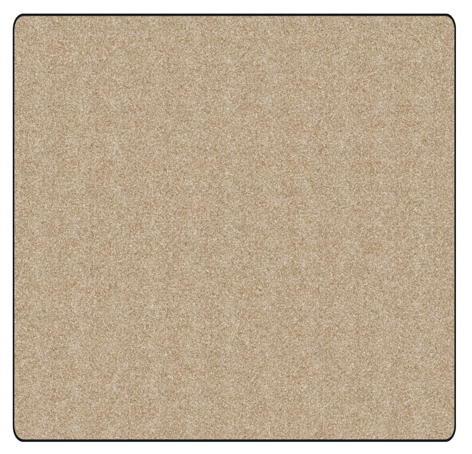 Americolors Almond Area Rug Rug Size: Square 6'