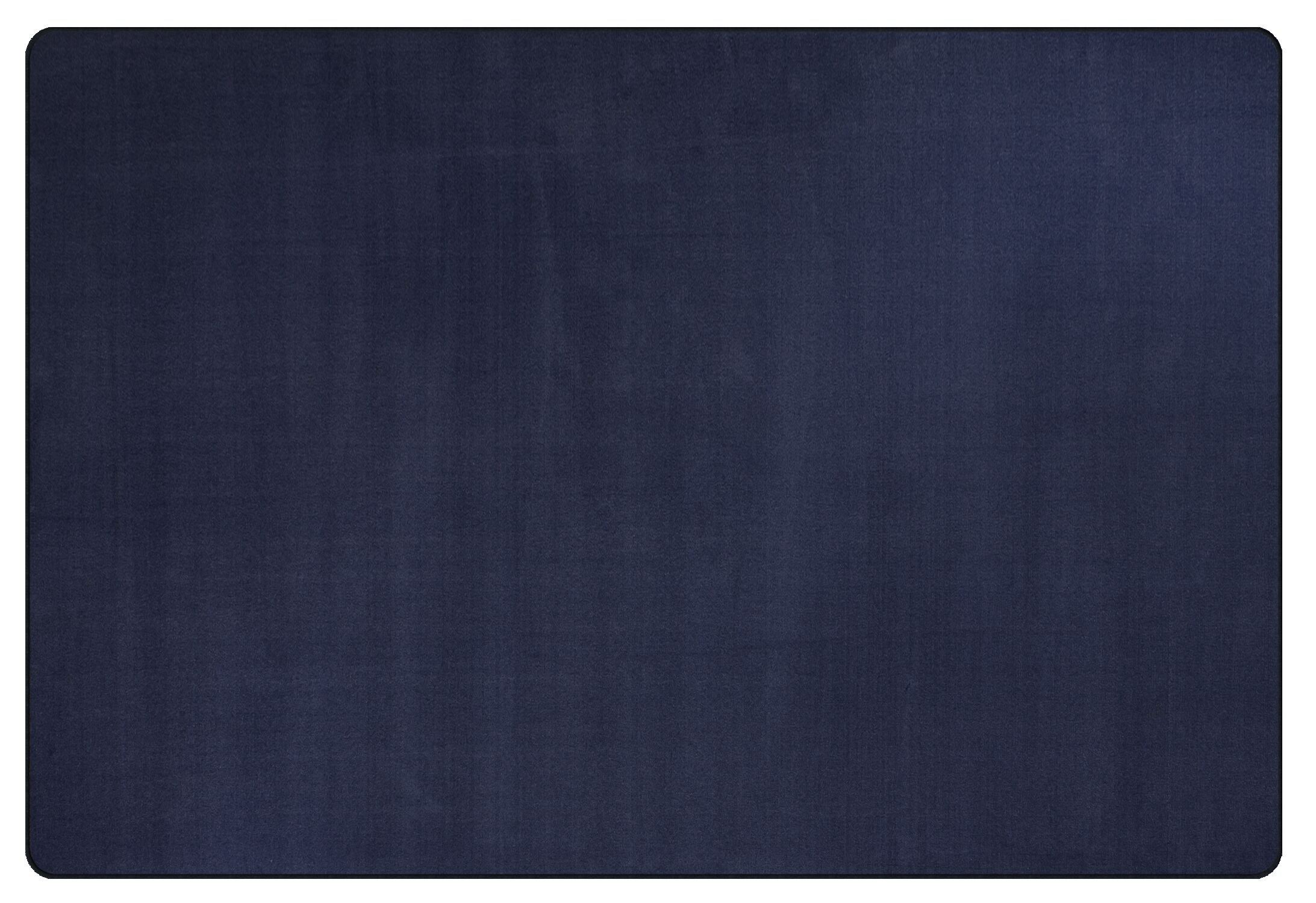 Americolors Navy Area Rug Rug Size: Rectangle 12' x 18'