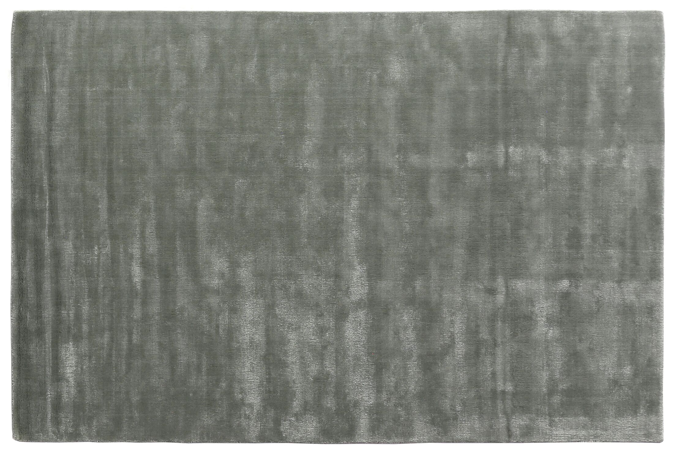 Smart Gem Sky Hand-Woven Gray Area Rug Rug Size: 6' x 9'