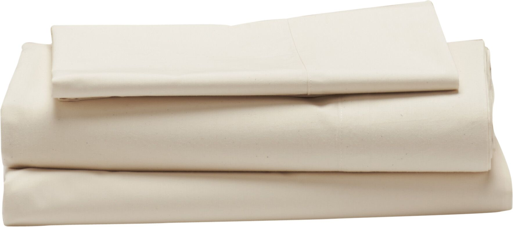 Sateen 300 Thread Count 100% Cotton Sheet Set Color: Natural, Size: King
