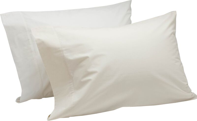 Percale 300 Thread Count 100% Cotton Sheet Set Color: Alpine White, Size: Twin