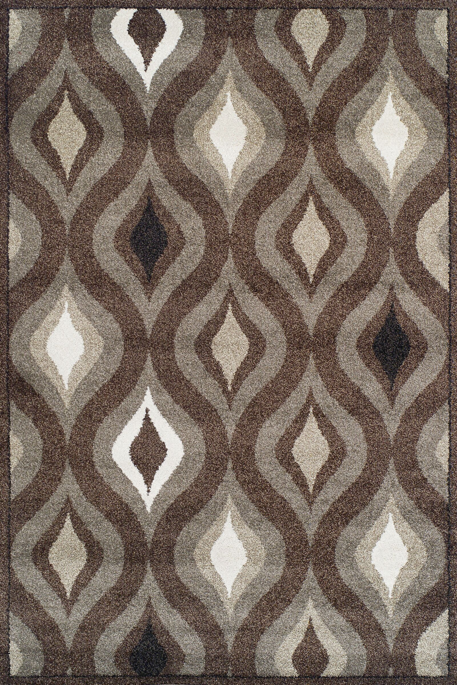 Royalston Espresso Area Rug Rug Size: Rectangle 7'10