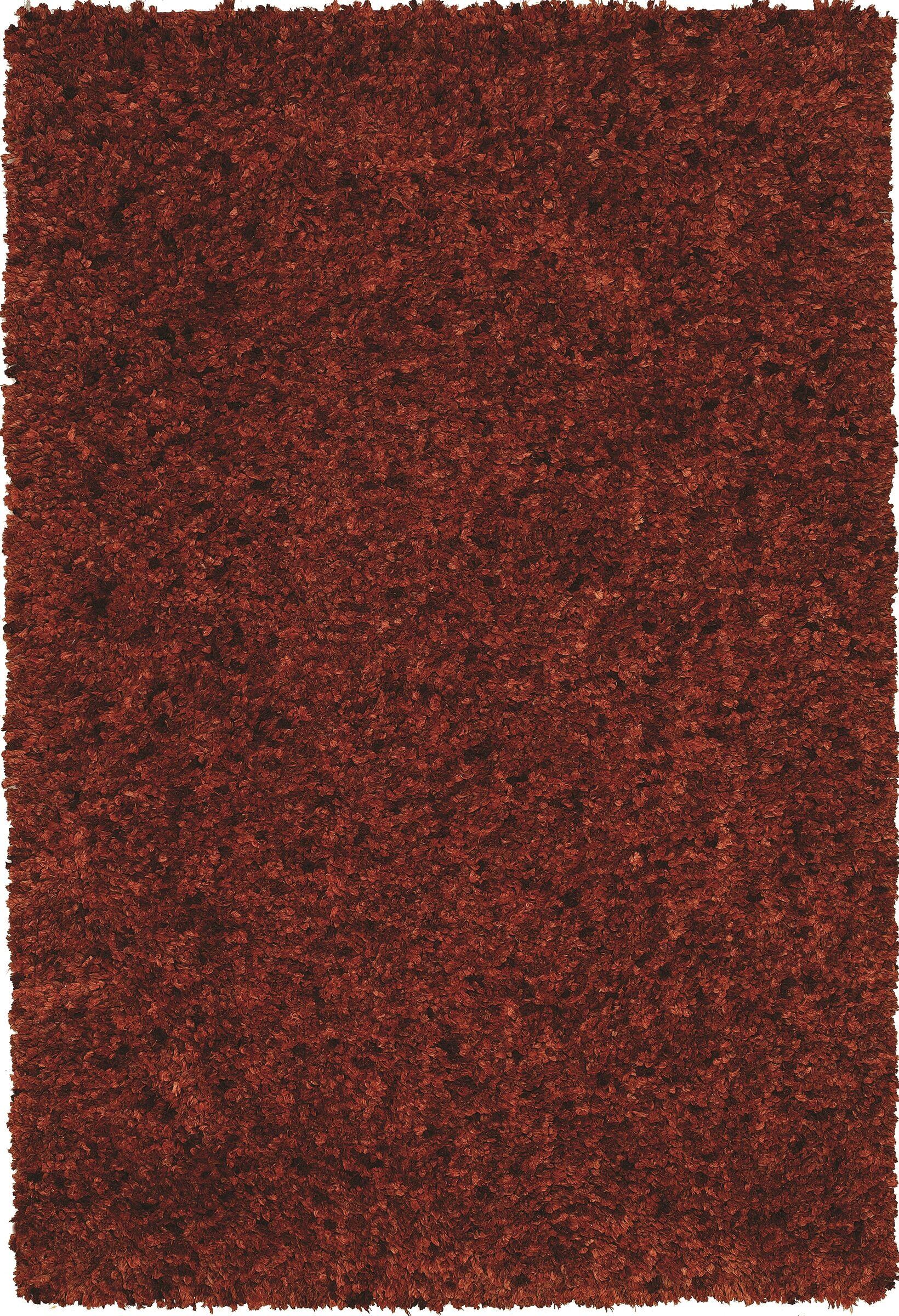 Tyreek Terra Cotta Area Rug Rug Size: Rectangle 8' x 10'