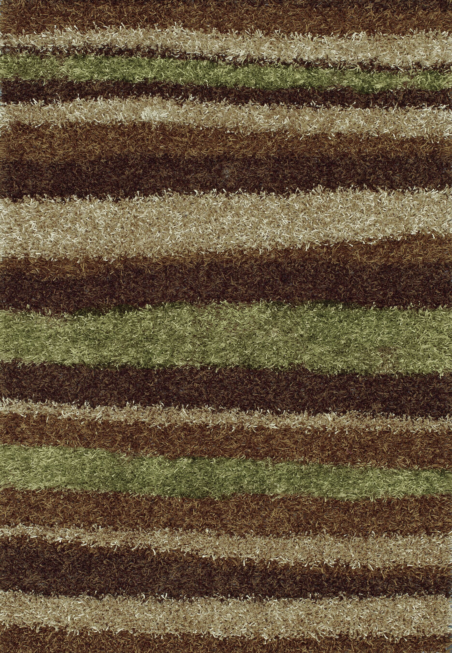 Dominque Mocha Area Rug Rug Size: Rectangle 3'6