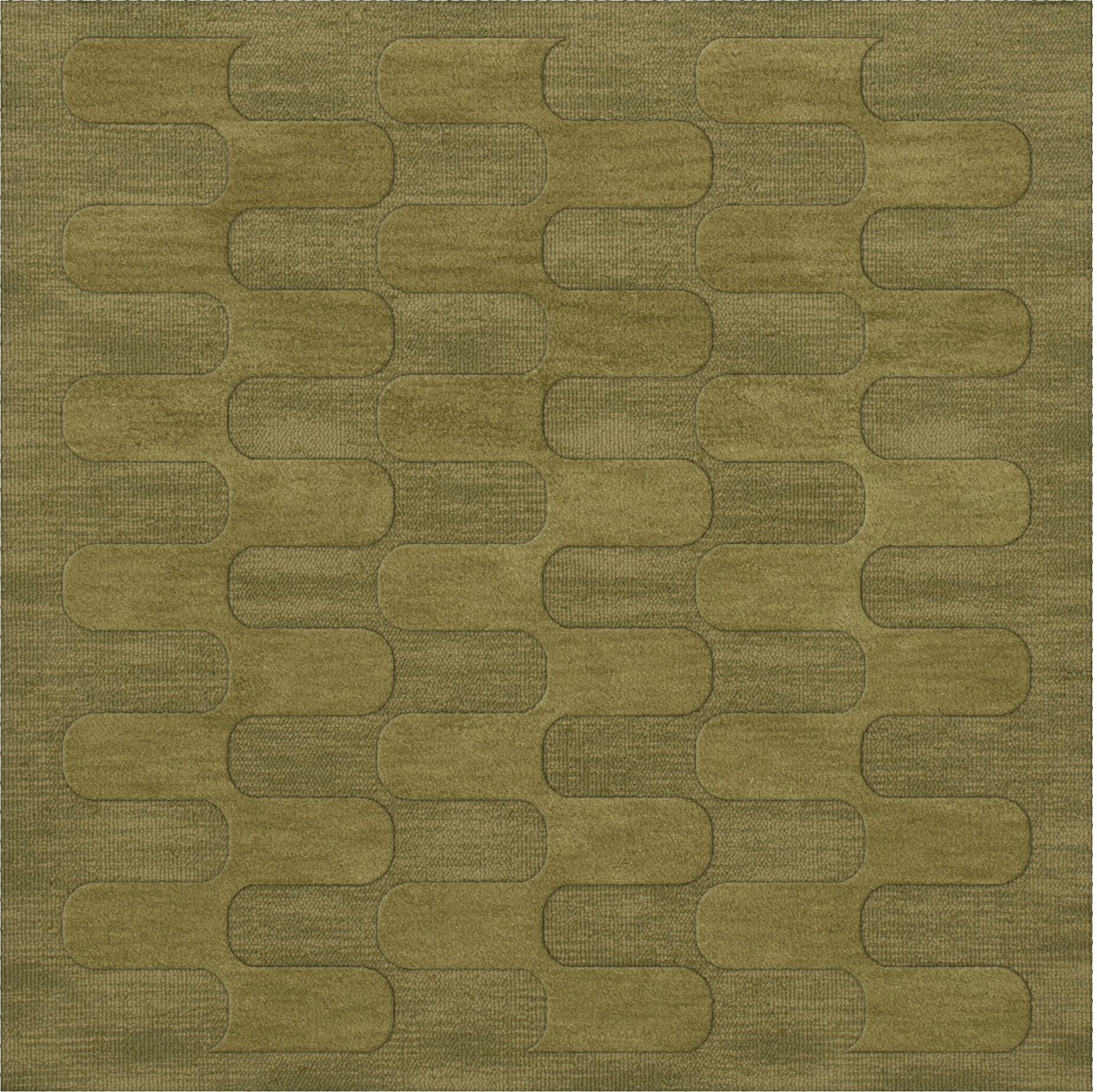 Dover Pear Area Rug Rug Size: Square 12'