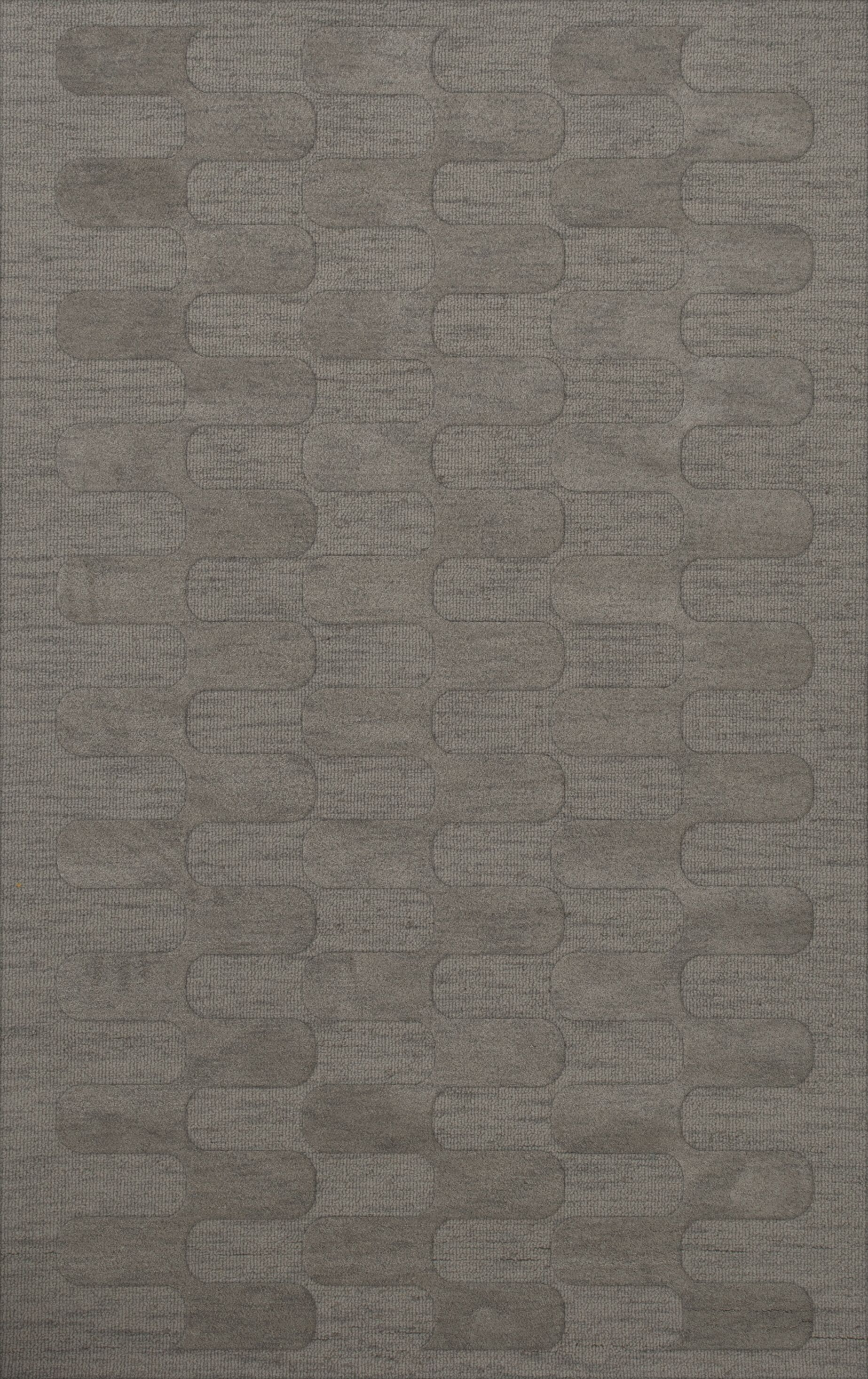 Dover Silver Area Rug Rug Size: Rectangle 6' x 9'