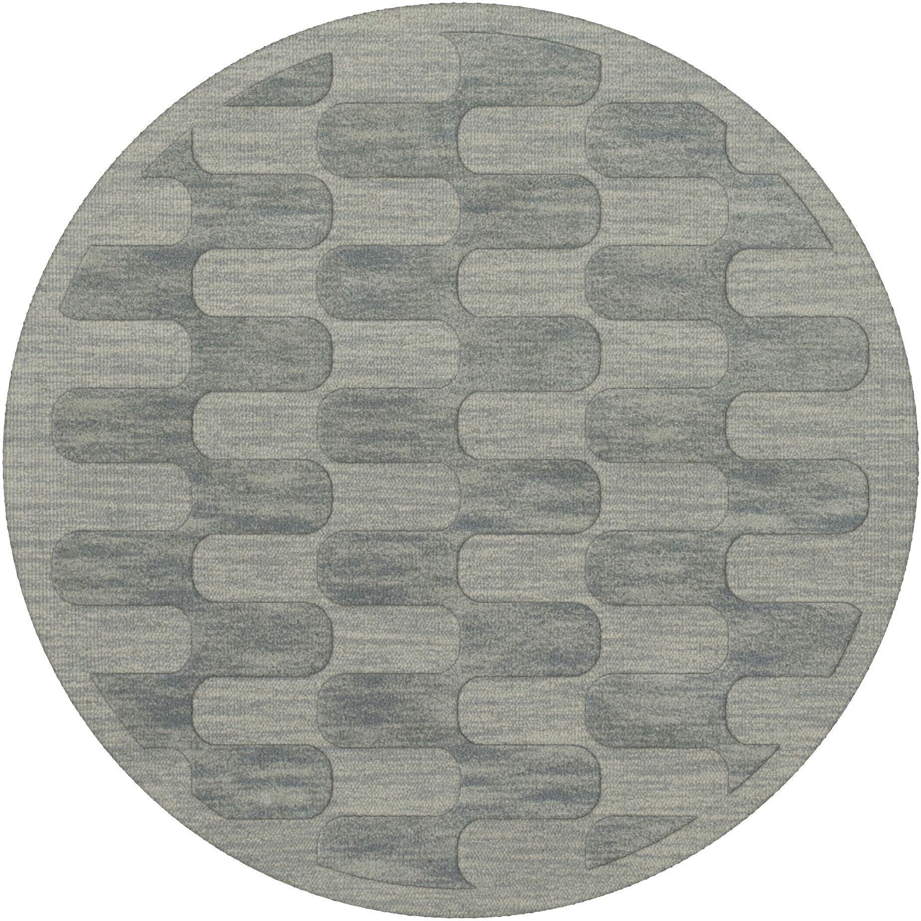 Dover Sea Glass Area Rug Rug Size: Round 6'