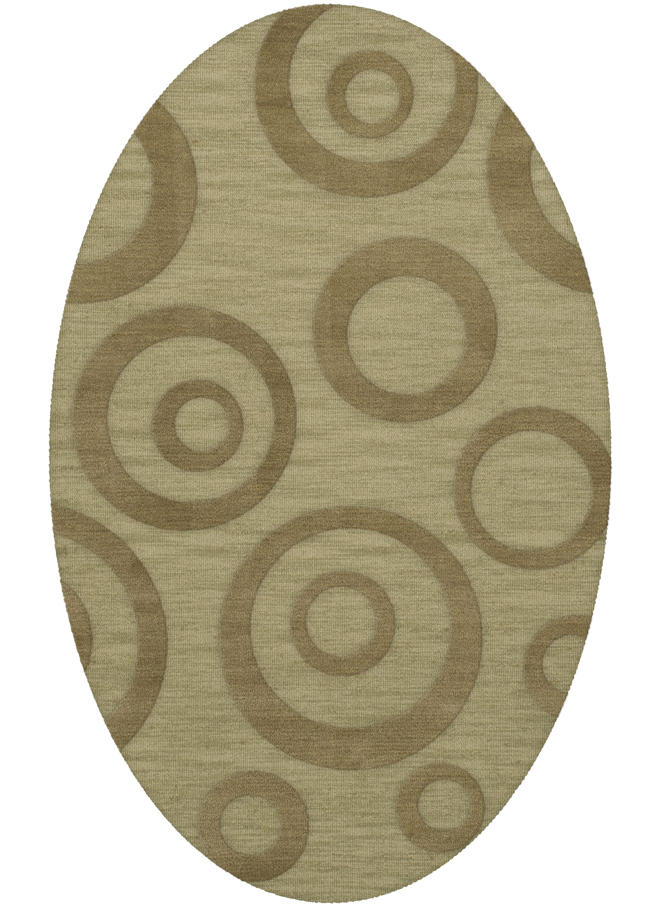 Dover Tufted Wool Marsh Area Rug Rug Size: Oval 10' x 14'