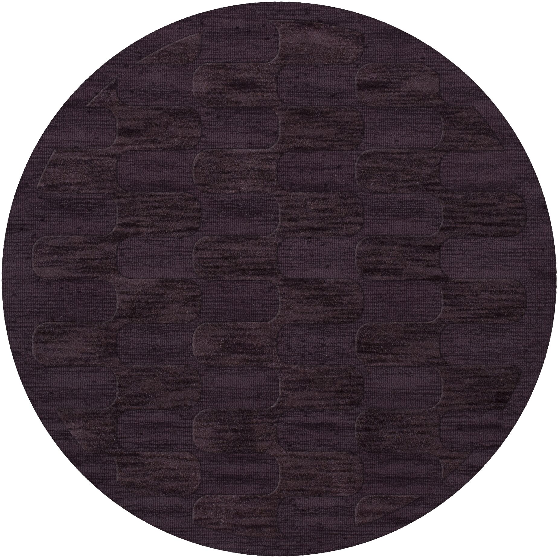 Dover Grape Ice Area Rug Rug Size: Round 10'