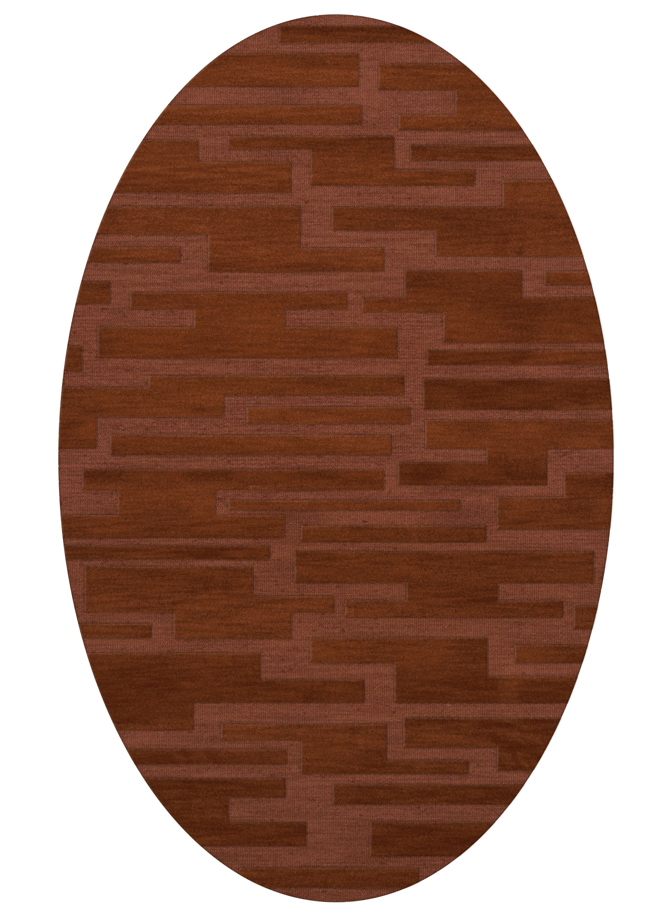 Dover Spice Area Rug Rug Size: Oval 3' x 5'
