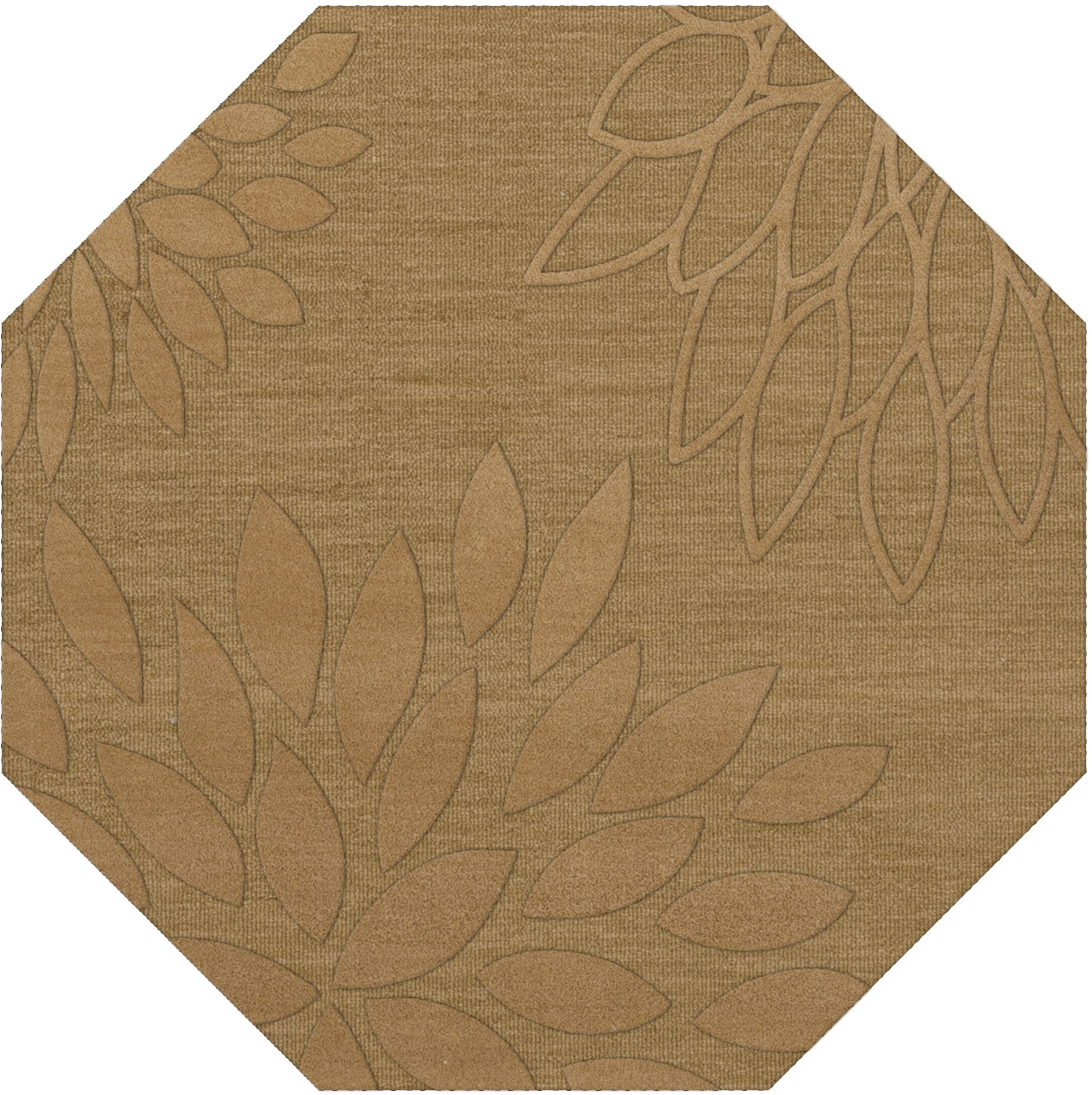 Bao Wheat Area Rug Rug Size: Octagon 12'