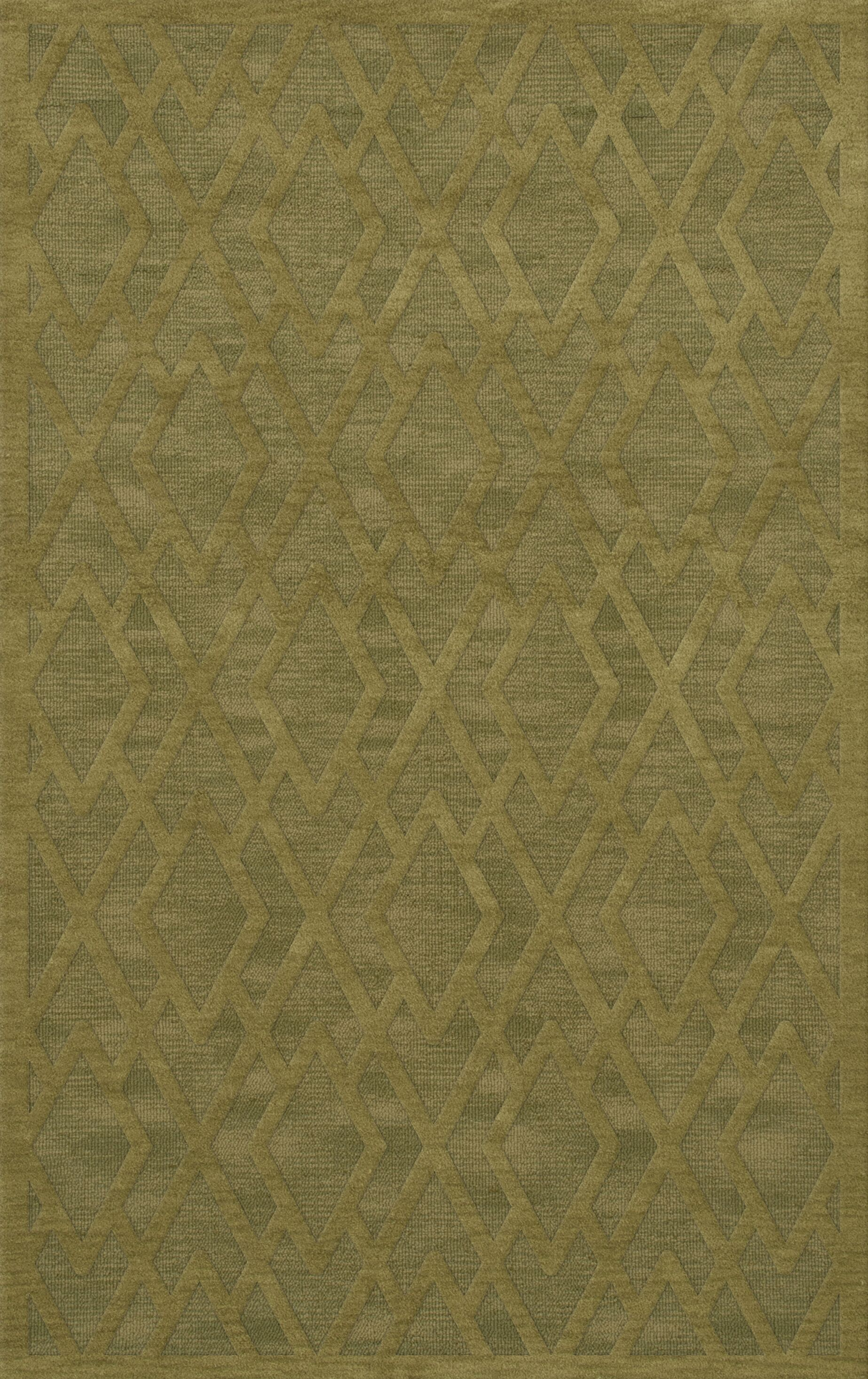Dover Tufted Wool Pear Area Rug Rug Size: Rectangle 12' x 18'