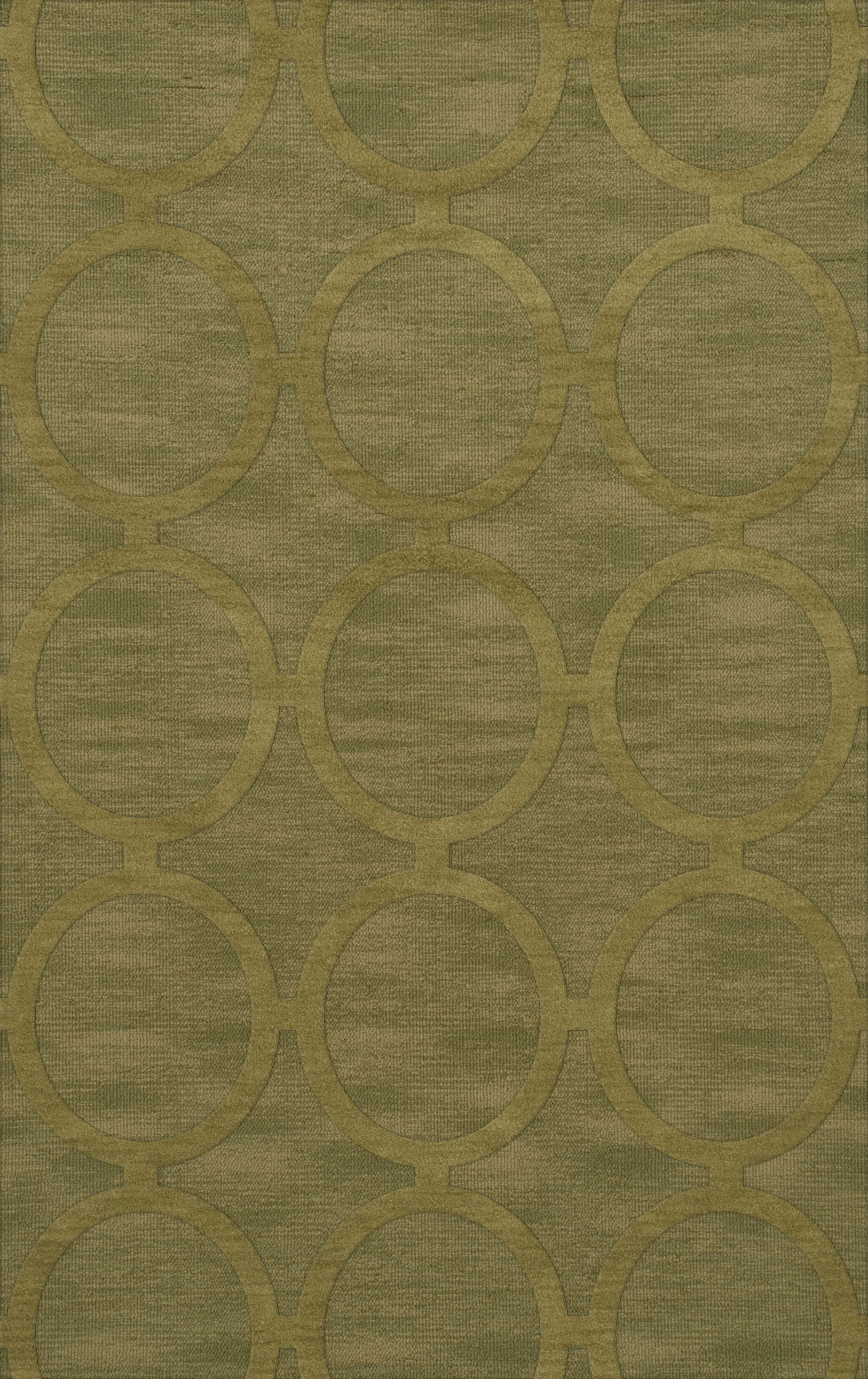 Dover Tufted Wool Pear Area Rug Rug Size: Rectangle 9' x 12'