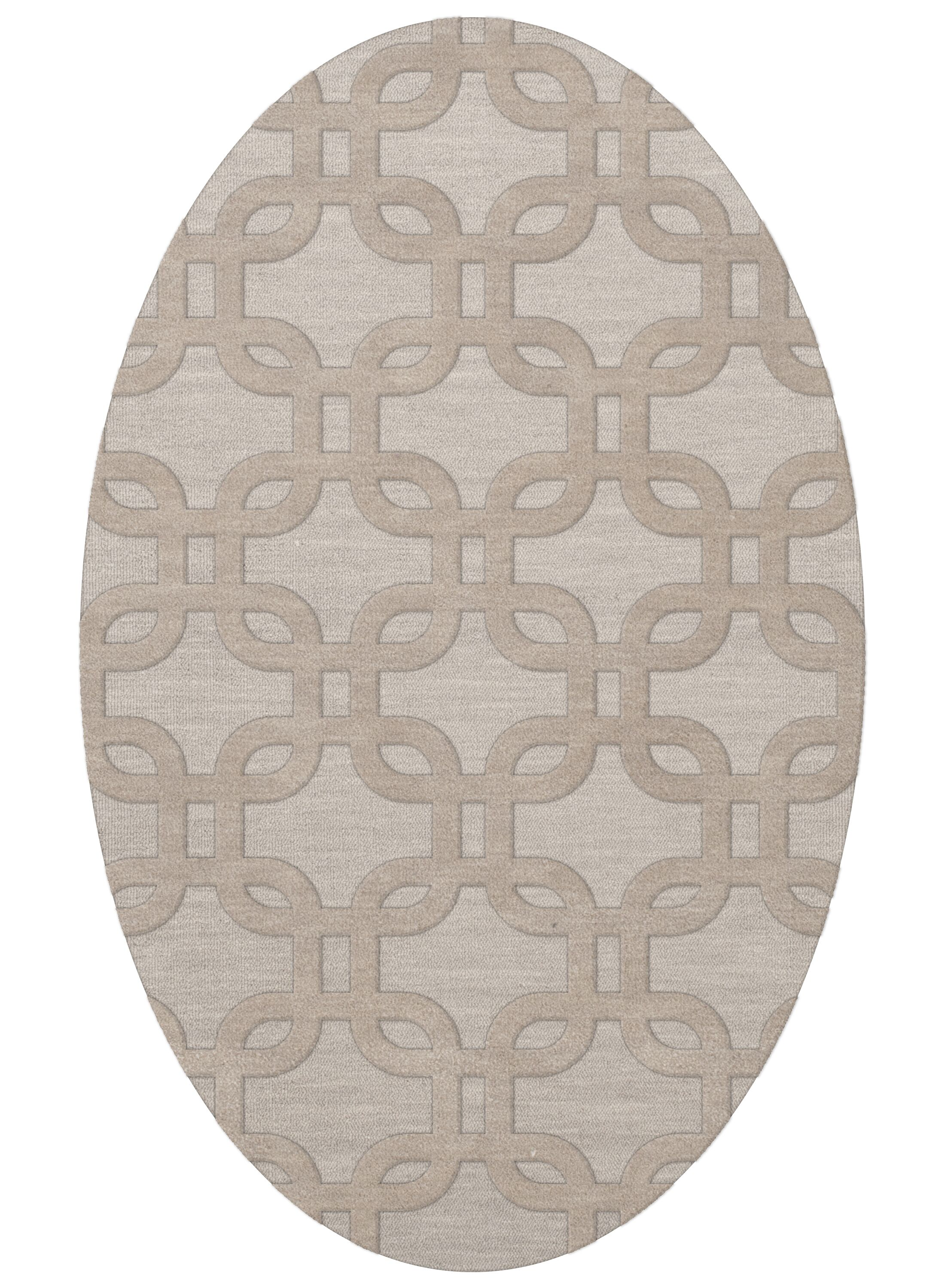 Dover Putty Area Rug Rug Size: Oval 12' x 15'