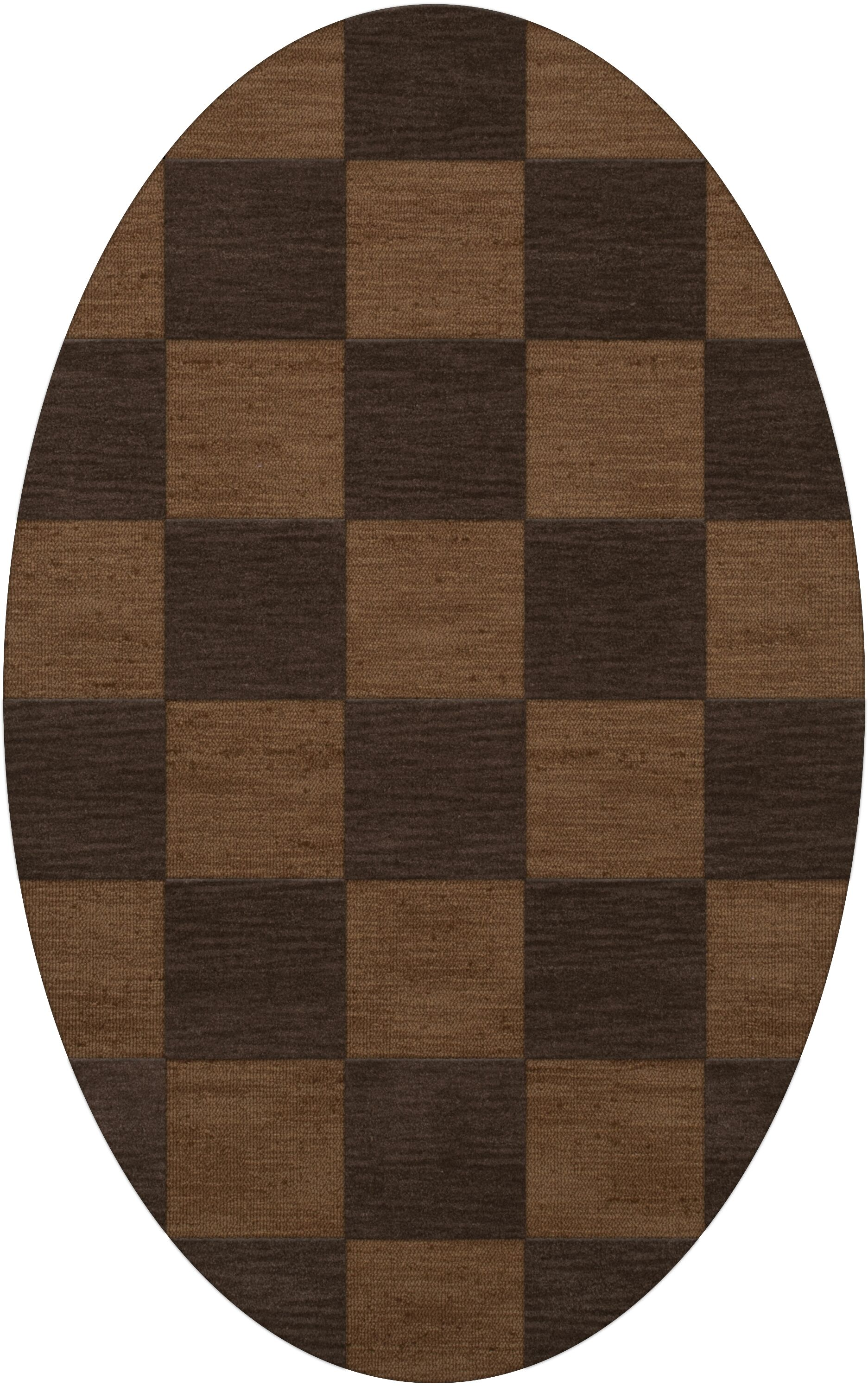 Dover Tufted Wool Caramel Area Rug Rug Size: Oval 10' x 14'