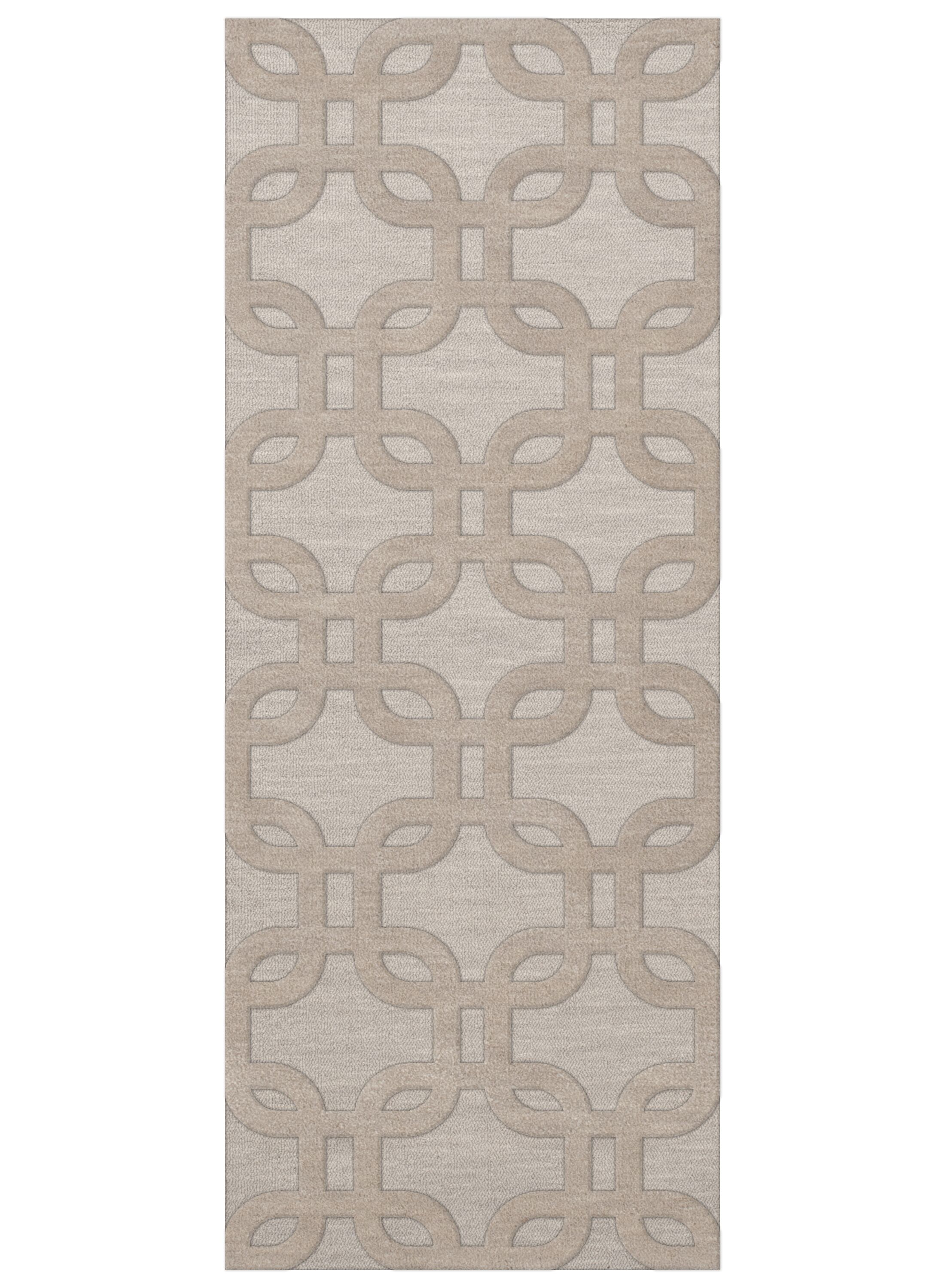 Dover Putty Area Rug Rug Size: Runner 2'6