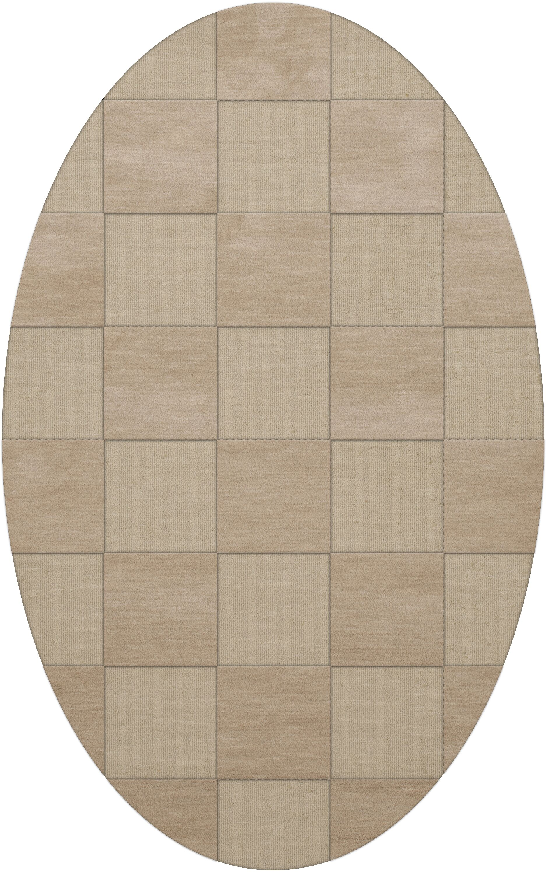 Dover Tufted Wool Linen Area Rug Rug Size: Oval 8' x 10'