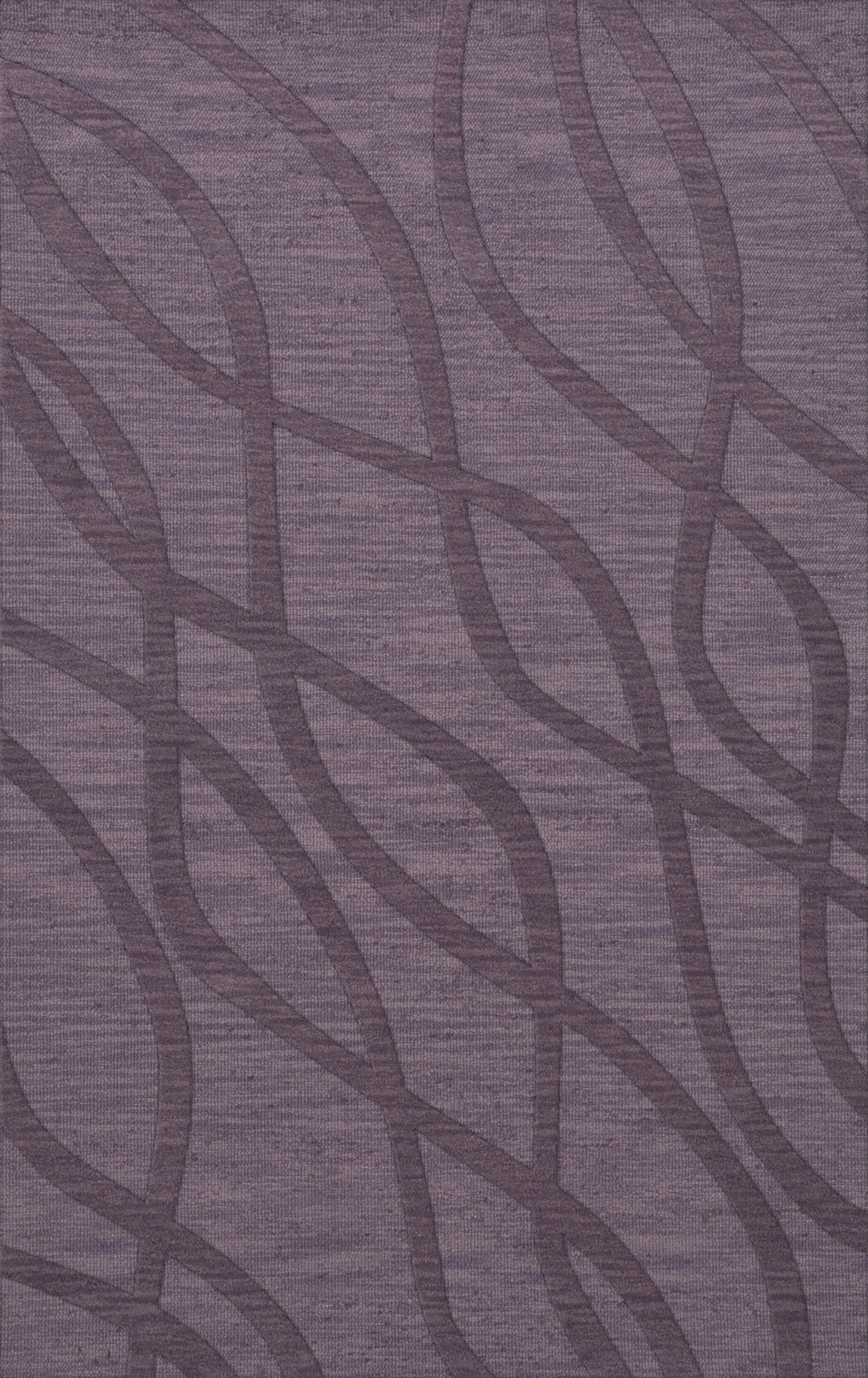 Dover Tufted Wool Viola Area Rug Rug Size: Rectangle 4' x 6'