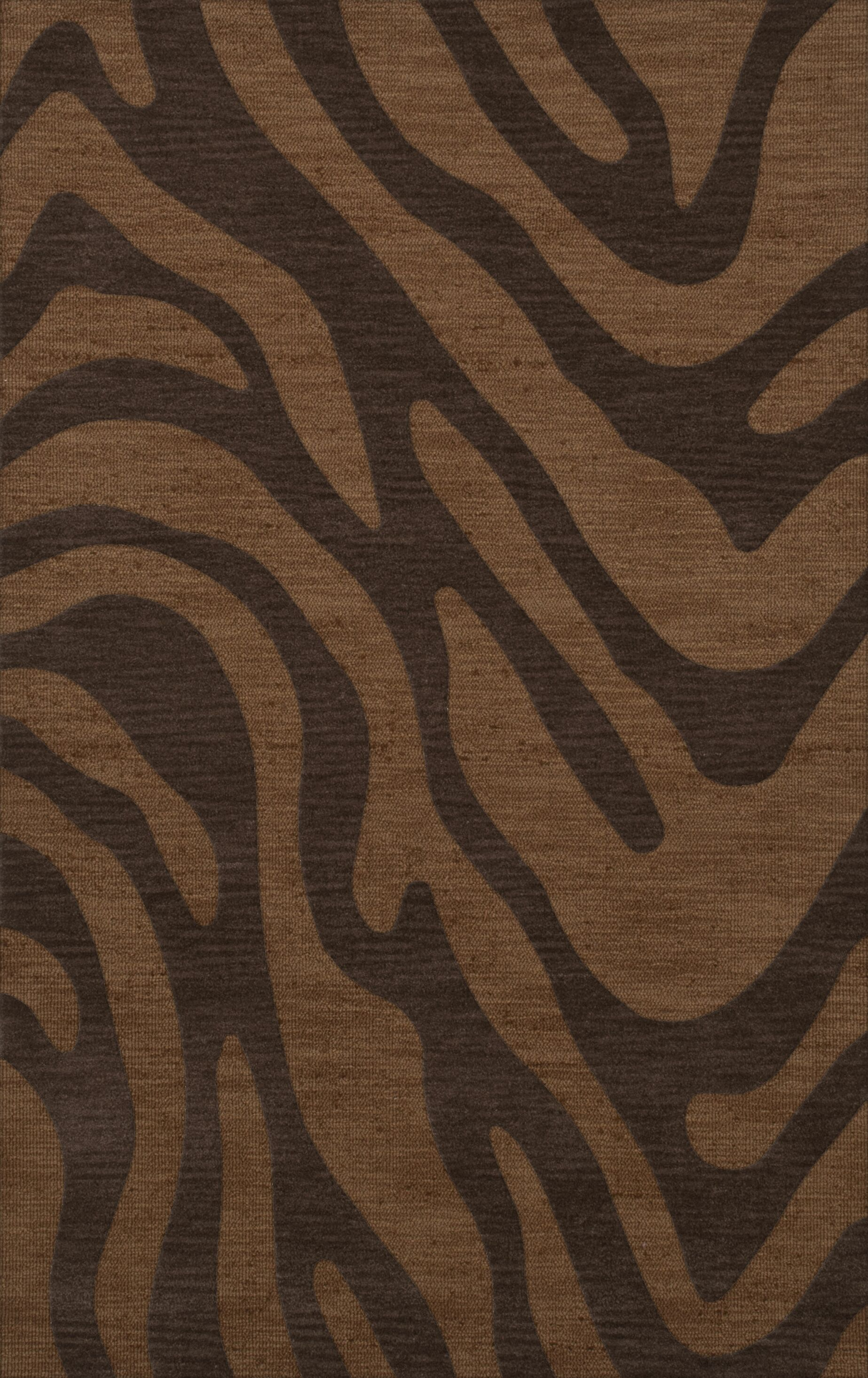 Dover Caramel Area Rug Rug Size: Rectangle 5' x 8'