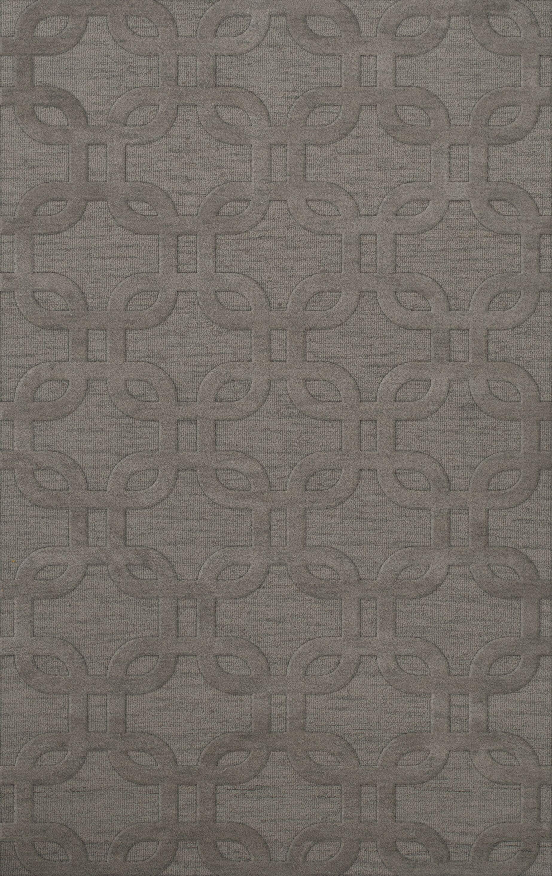 Dover Silver Area Rug Rug Size: Rectangle 9' x 12'