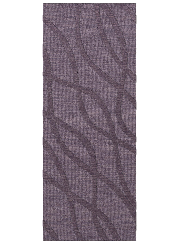 Dover Tufted Wool Viola Area Rug Rug Size: Runner 2'6