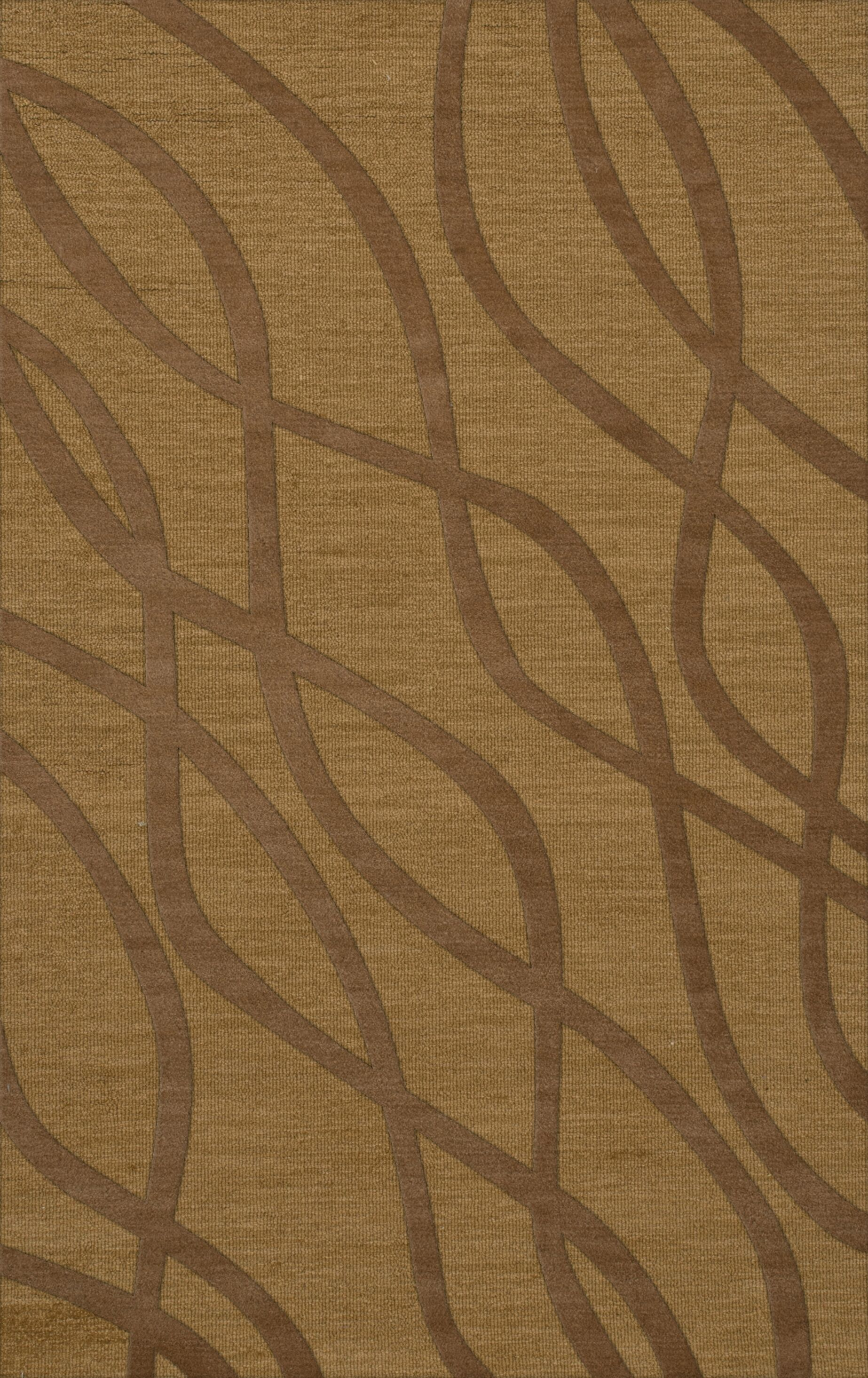 Dover Gold Dust Area Rug Rug Size: Rectangle 6' x 9'
