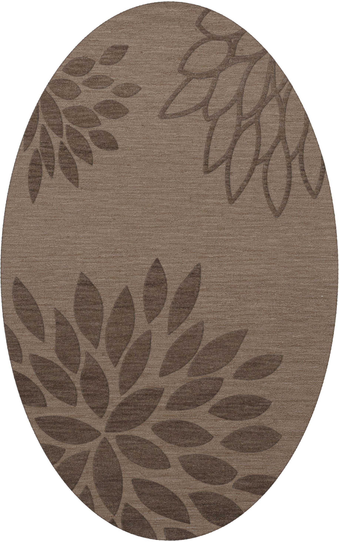 Bao Stone Area Rug Rug Size: Oval 3' x 5'
