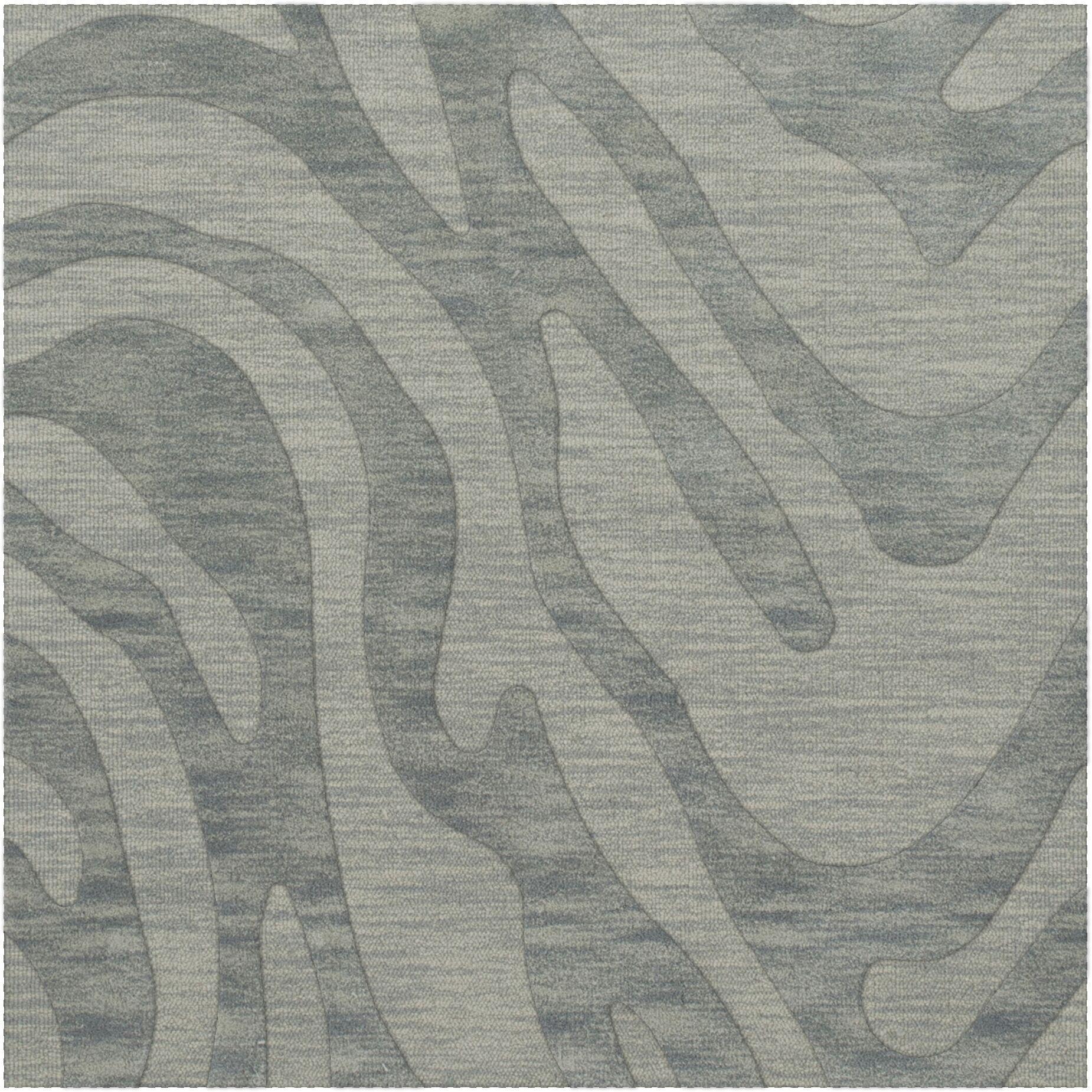 Dover Sea Glass Area Rug Rug Size: Square 4'