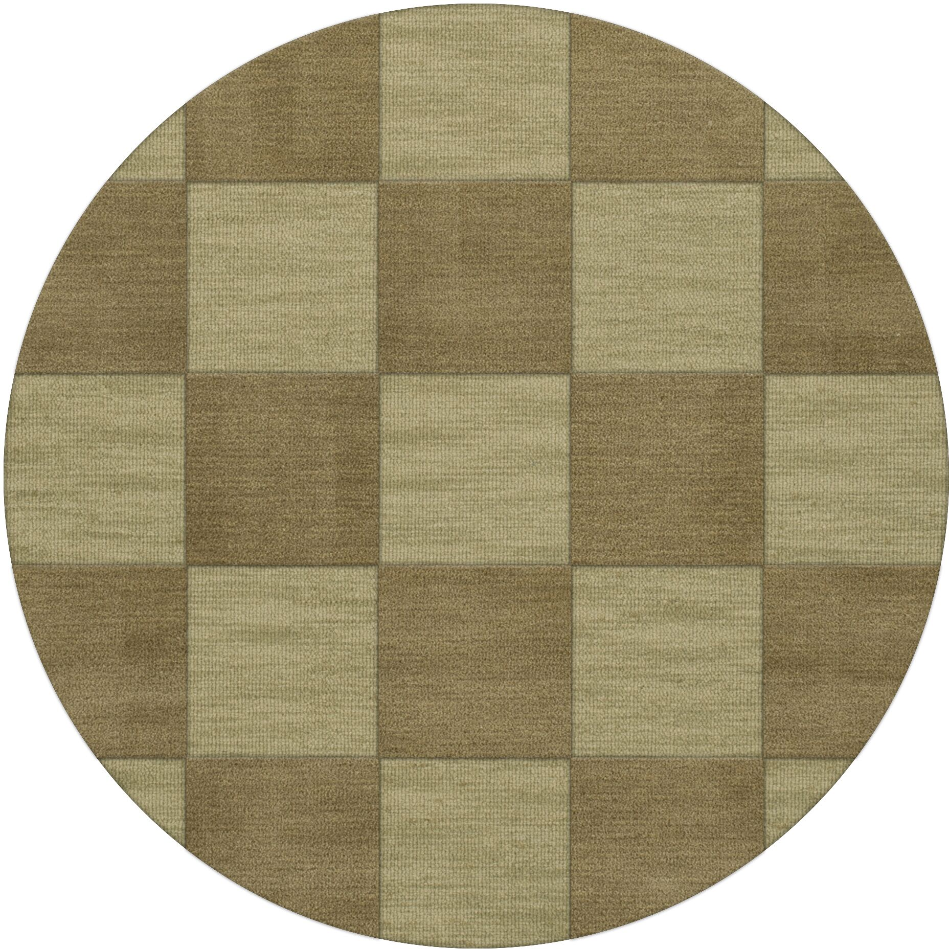 Dover Tufted Wool Marsh Area Rug Rug Size: Round 4'