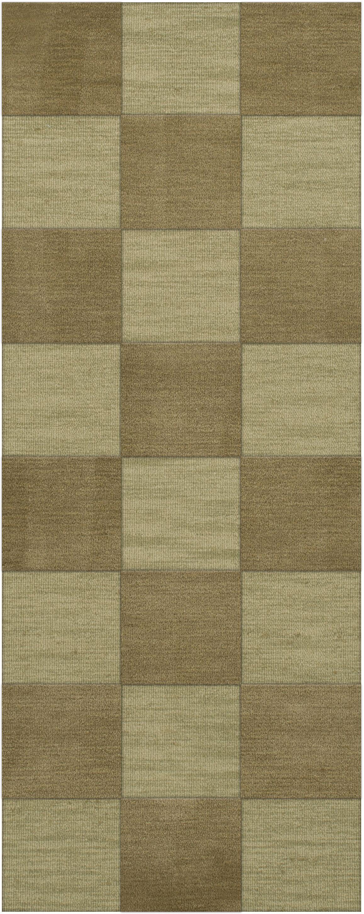 Dover Tufted Wool Marsh Area Rug Rug Size: Runner 2'6