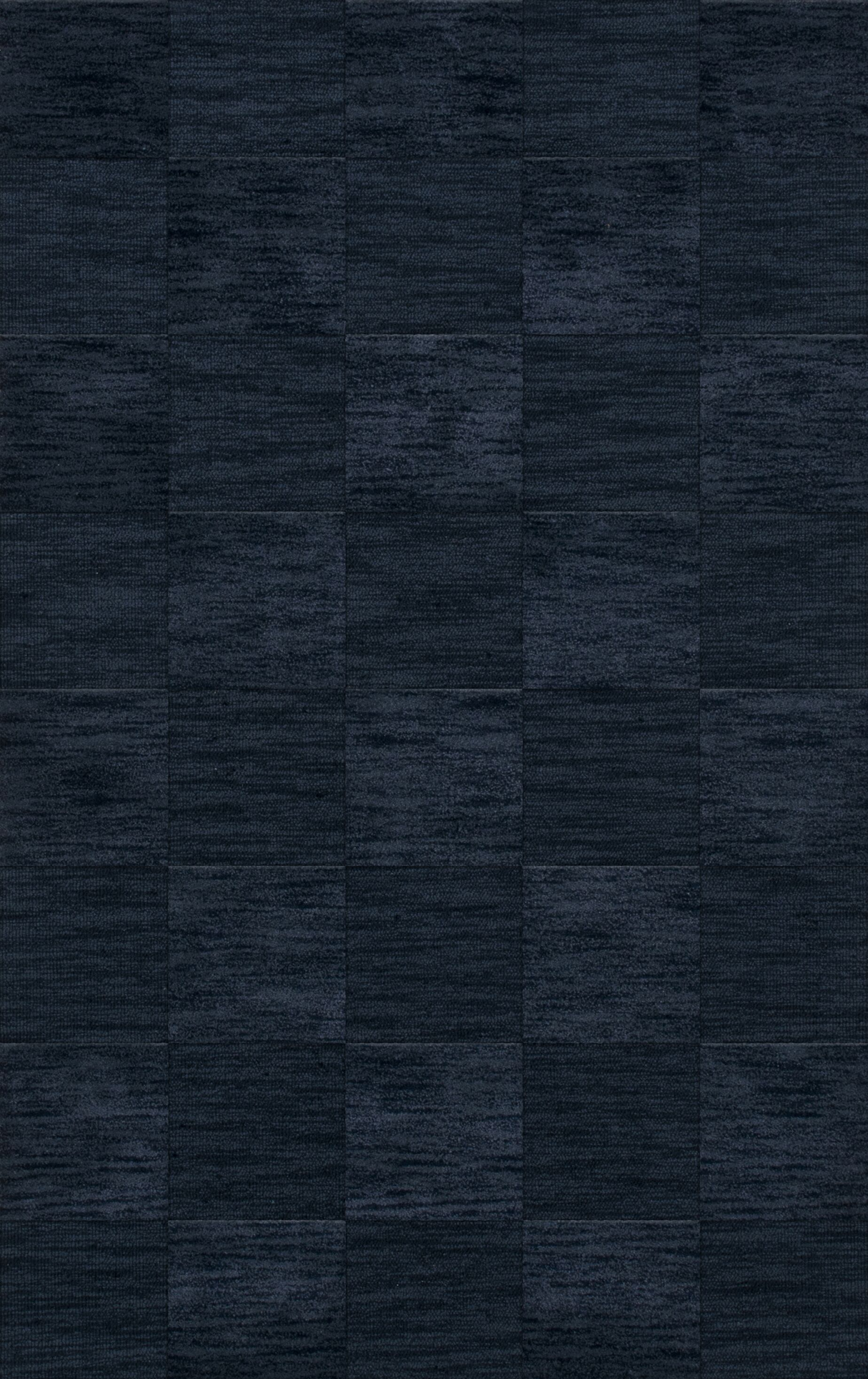 Dover Tufted Wool Navy Area Rug Rug Size: Rectangle 3' x 5'