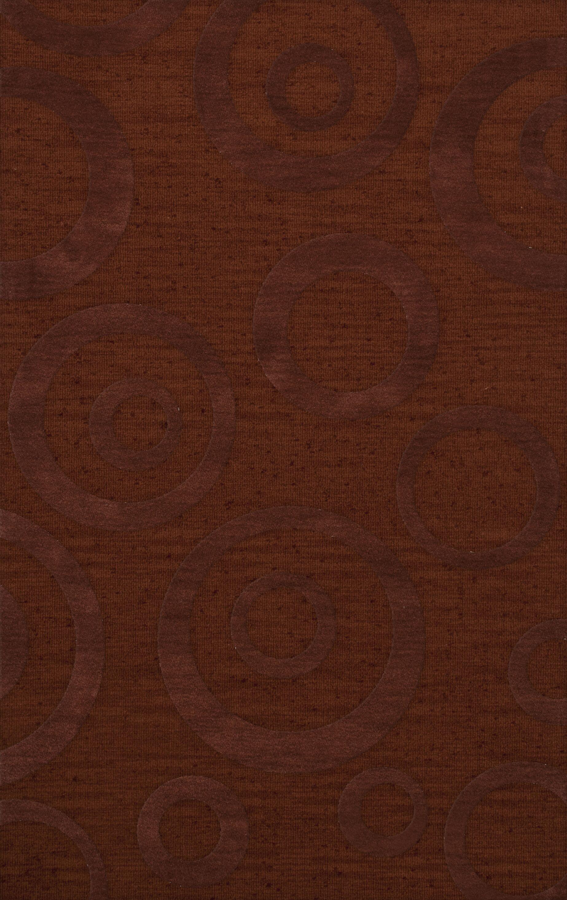 Dover Paprika Area Rug Rug Size: Rectangle 9' x 12'