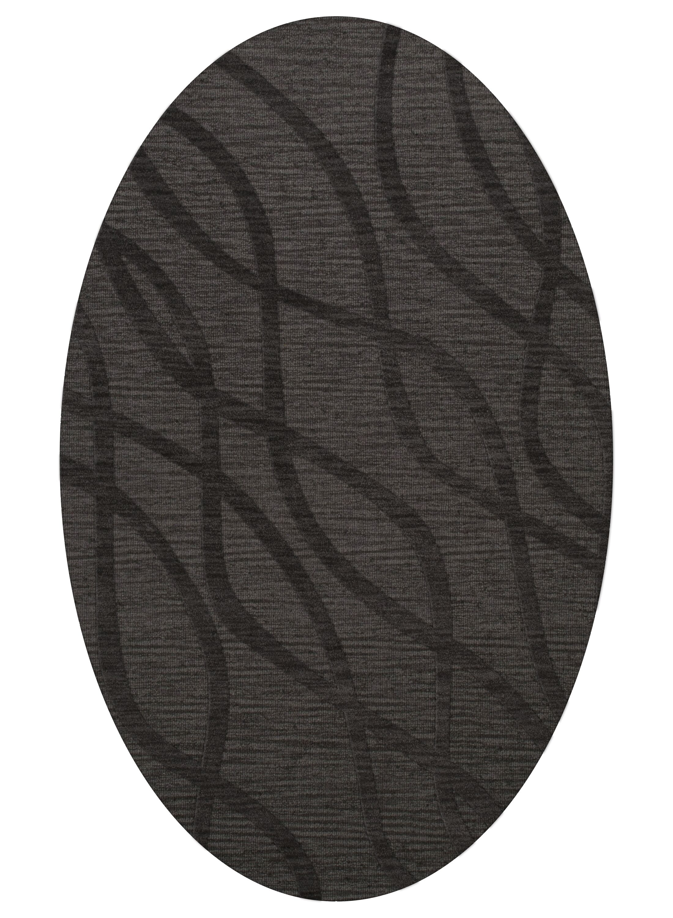 Dover Ash Area Rug Rug Size: Oval 8' x 10'
