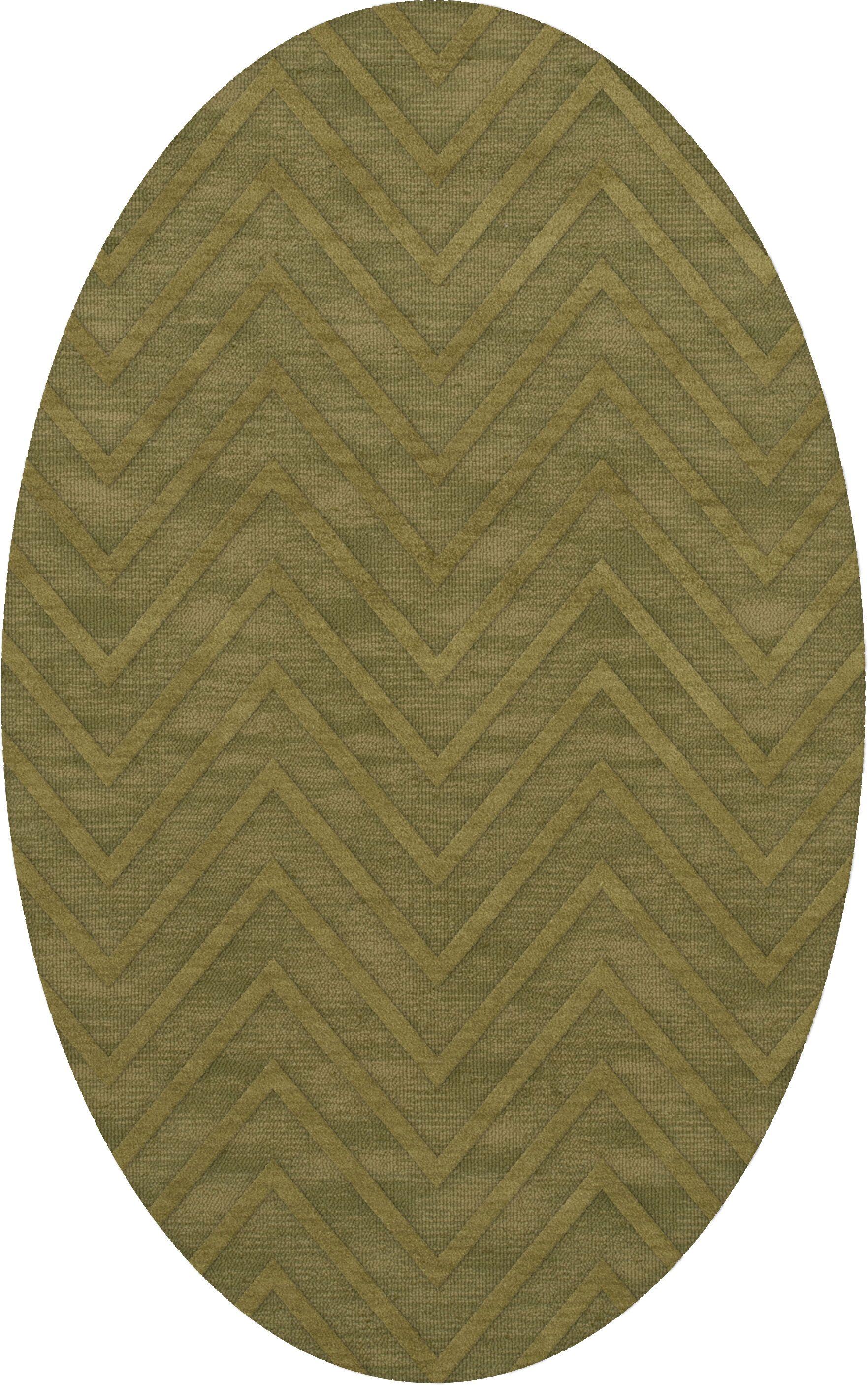 Dover Leaf Area Rug Rug Size: Oval 5' x 8'