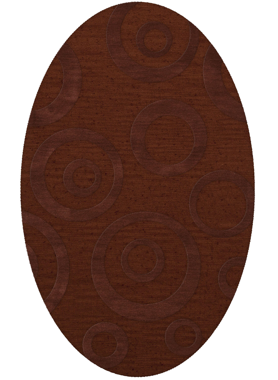 Dover Paprika Area Rug Rug Size: Oval 9' x 12'