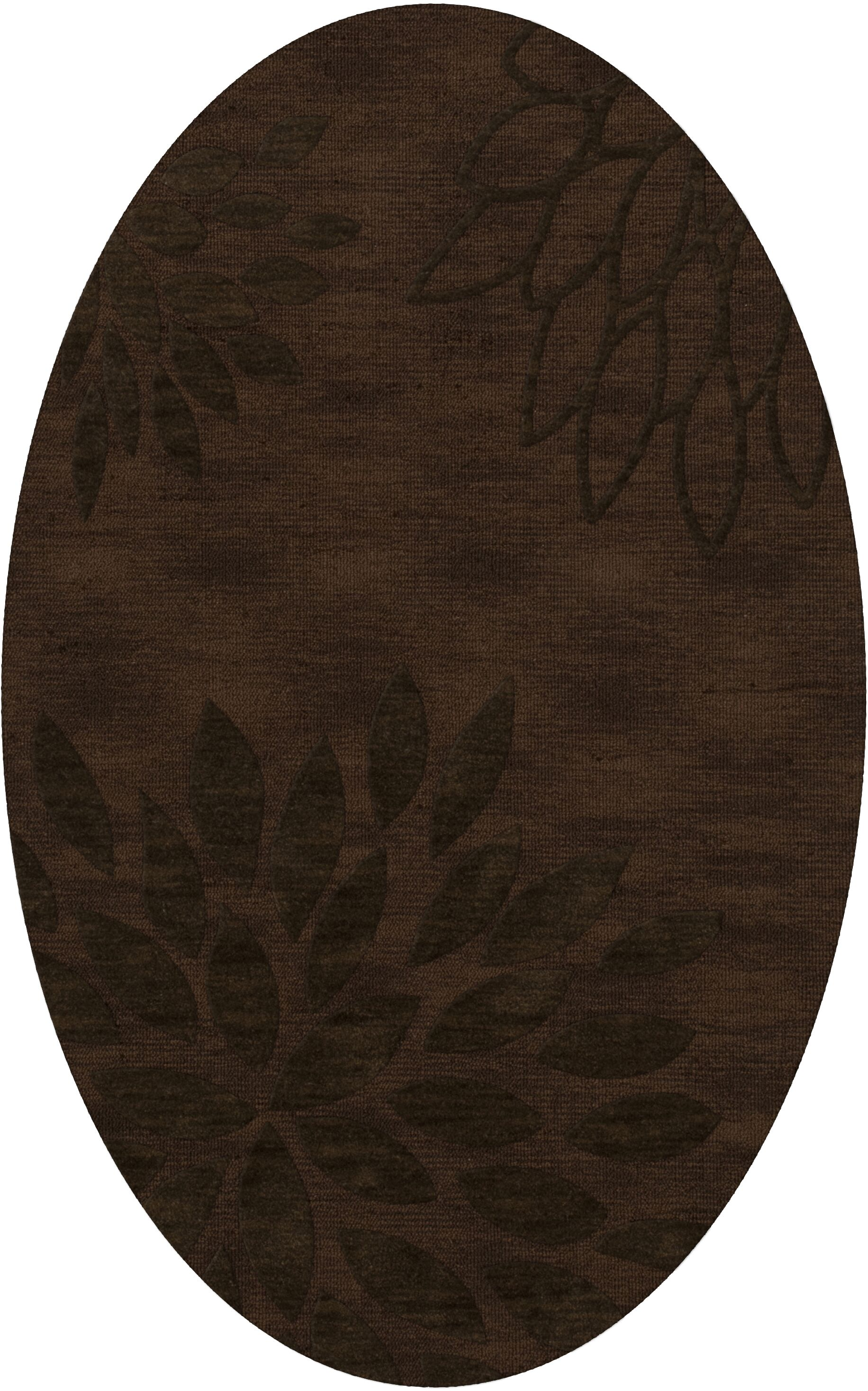 Bao Fudge Area Rug Rug Size: Oval 10' x 14'