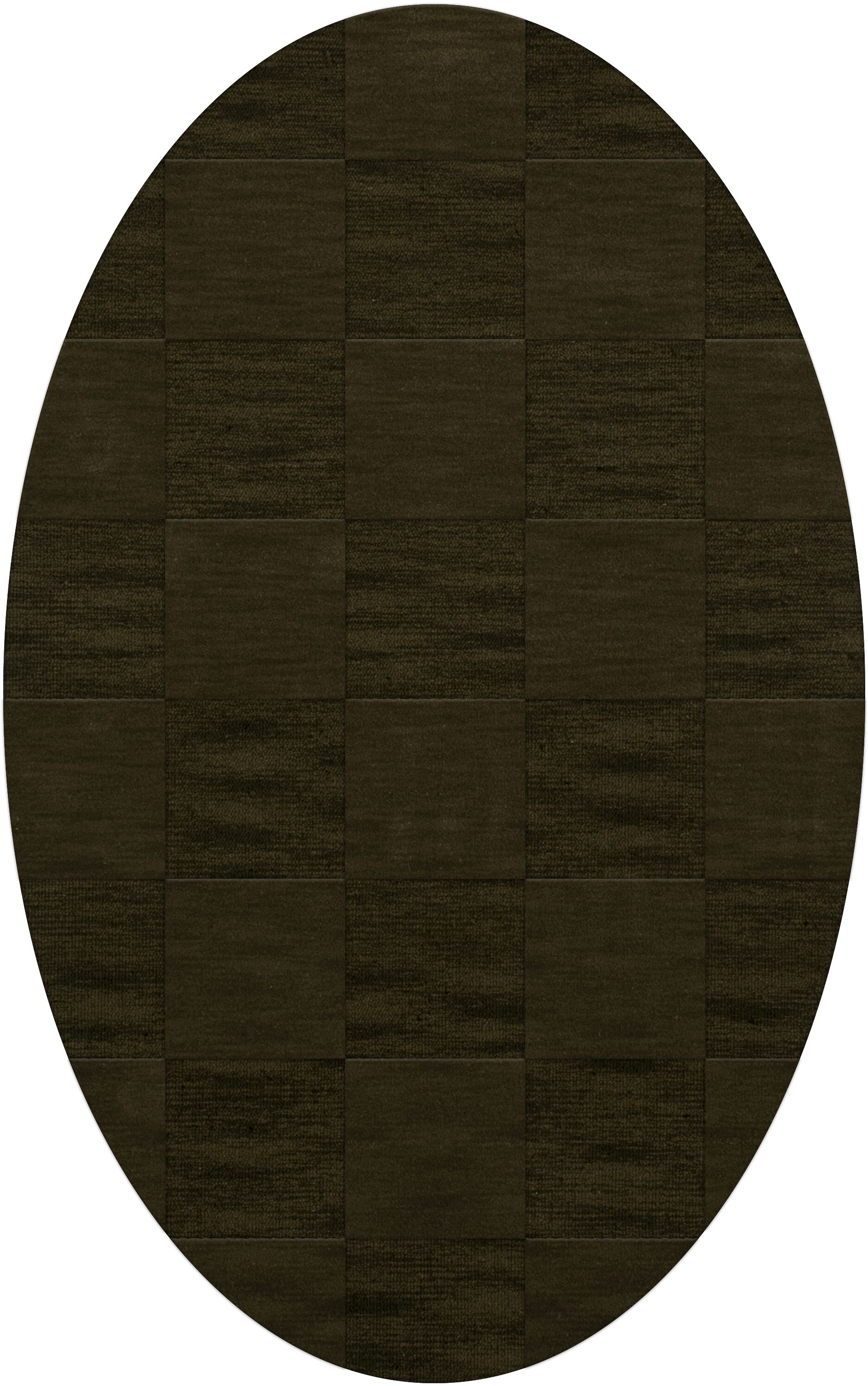 Dover Tufted Wool Olive Area Rug Rug Size: Oval 10' x 14'