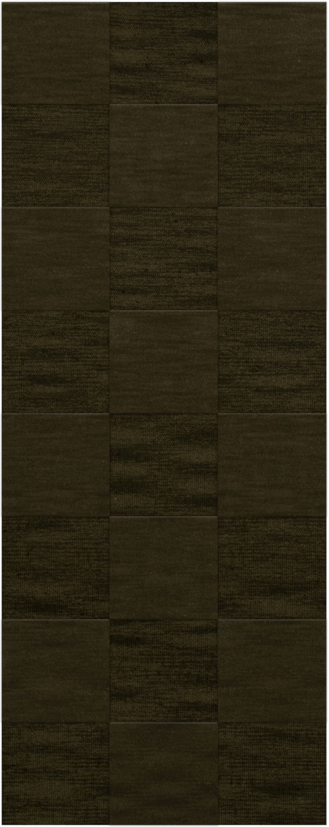 Dover Tufted Wool Olive Area Rug Rug Size: Runner 2'6