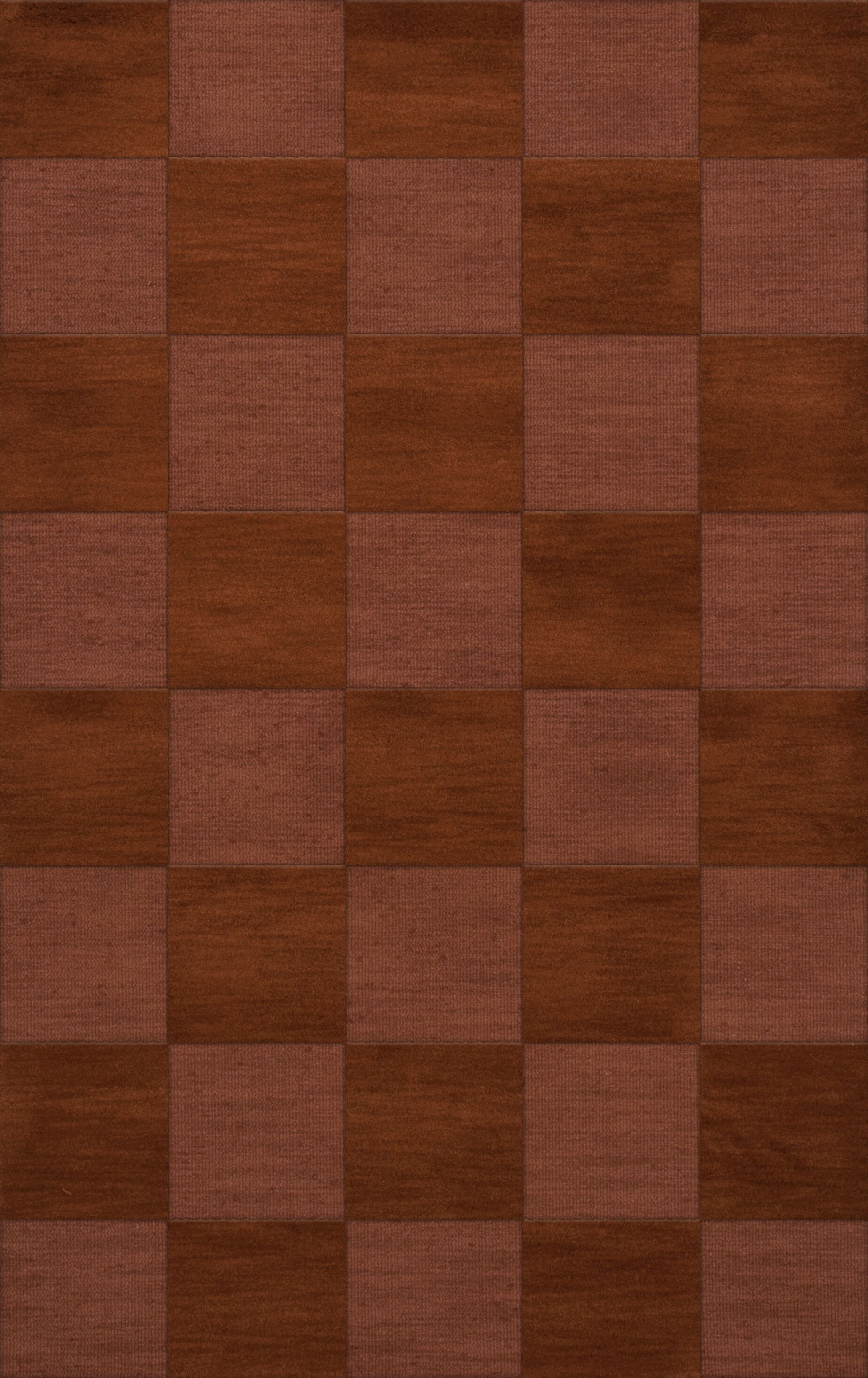 Dover Tufted Wool Spice Area Rug Rug Size: Rectangle 5' x 8'