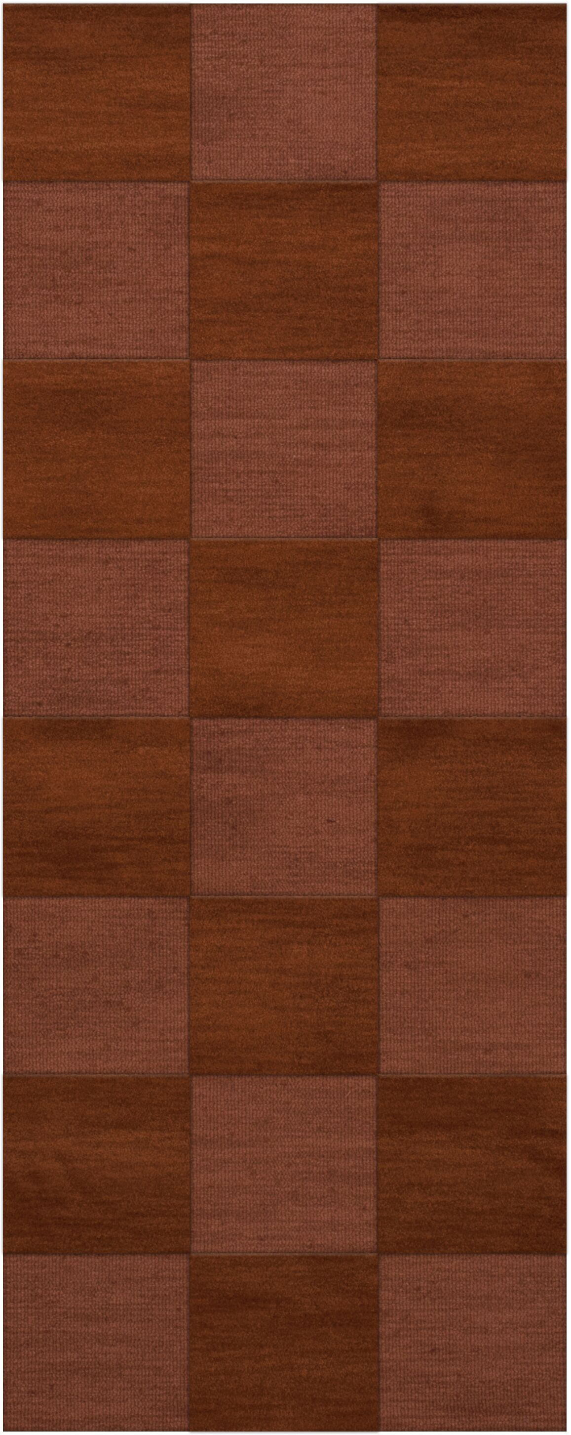 Dover Tufted Wool Spice Area Rug Rug Size: Runner 2'6