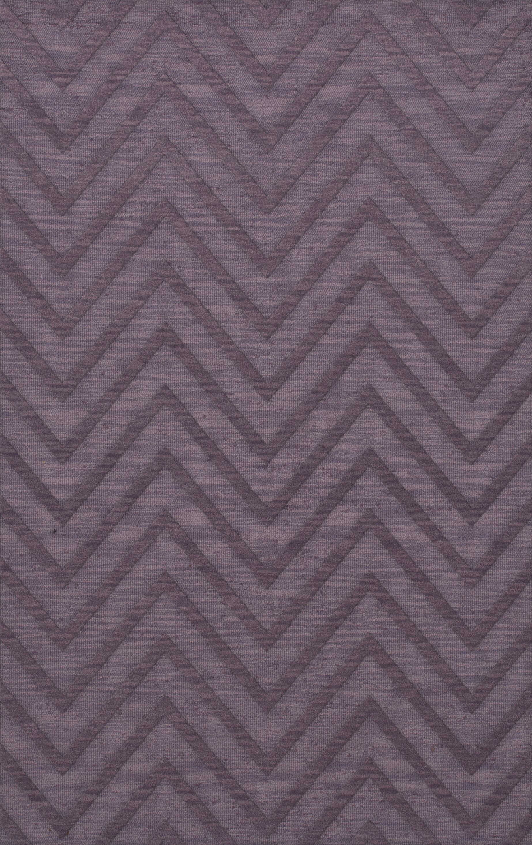 Dover Viola Area Rug Rug Size: Rectangle 8' x 10'
