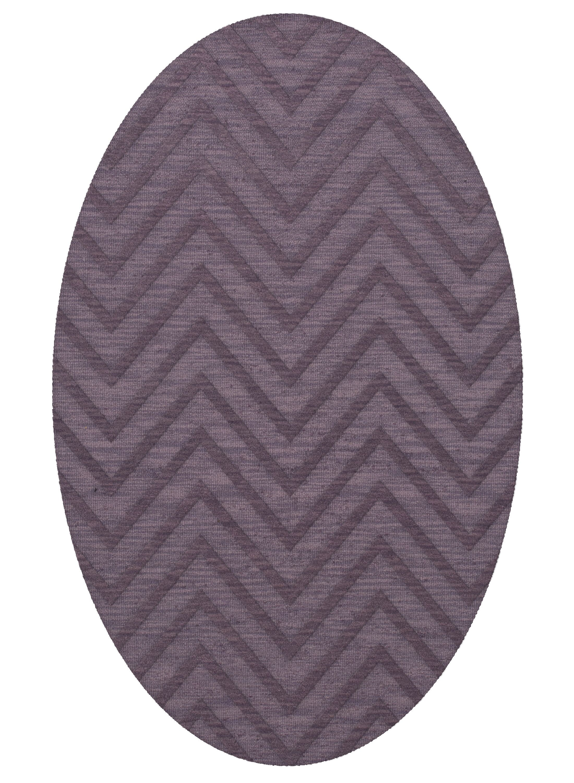 Dover Viola Area Rug Rug Size: Oval 3' x 5'