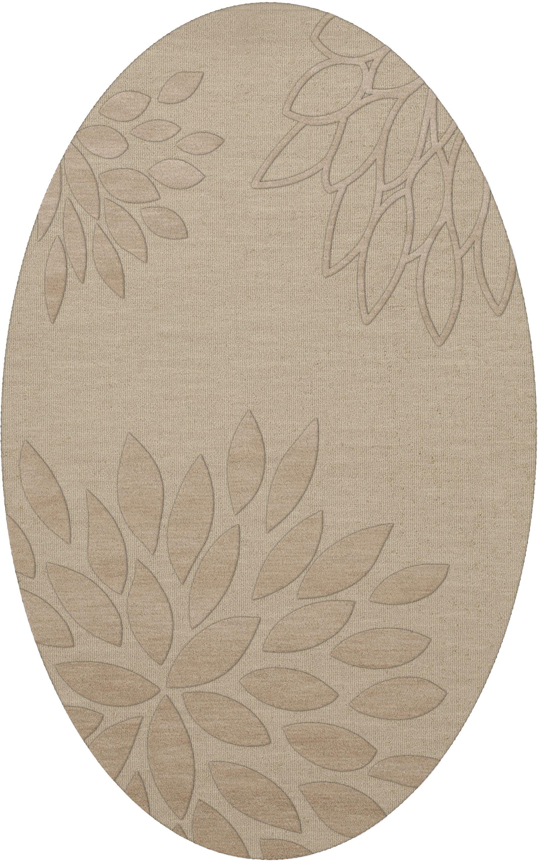 Bao Linen Area Rug Rug Size: Oval 3' x 5'