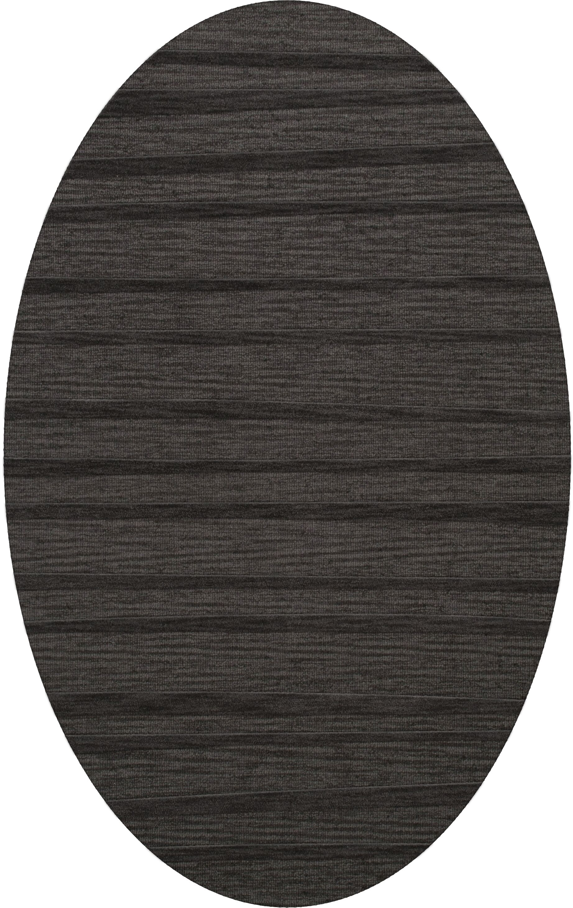 Dover Tufted Wool Ash Area Rug Rug Size: Oval 12' x 15'