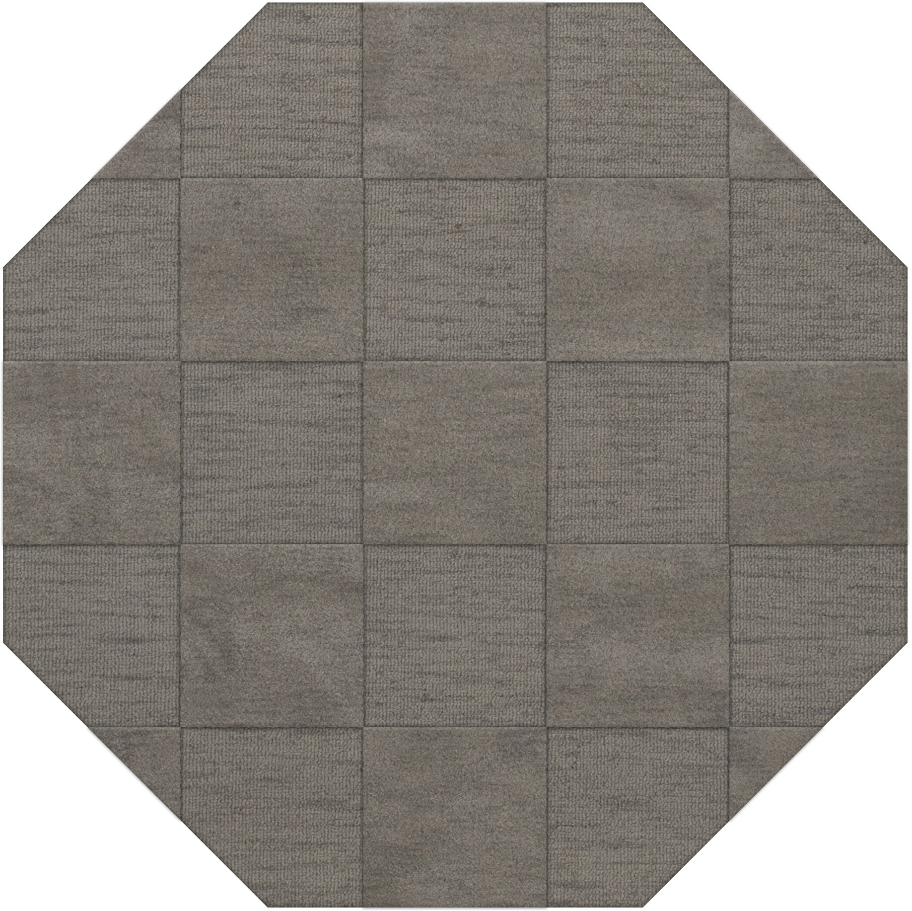 Dover Silver Area Rug Rug Size: Octagon 4'