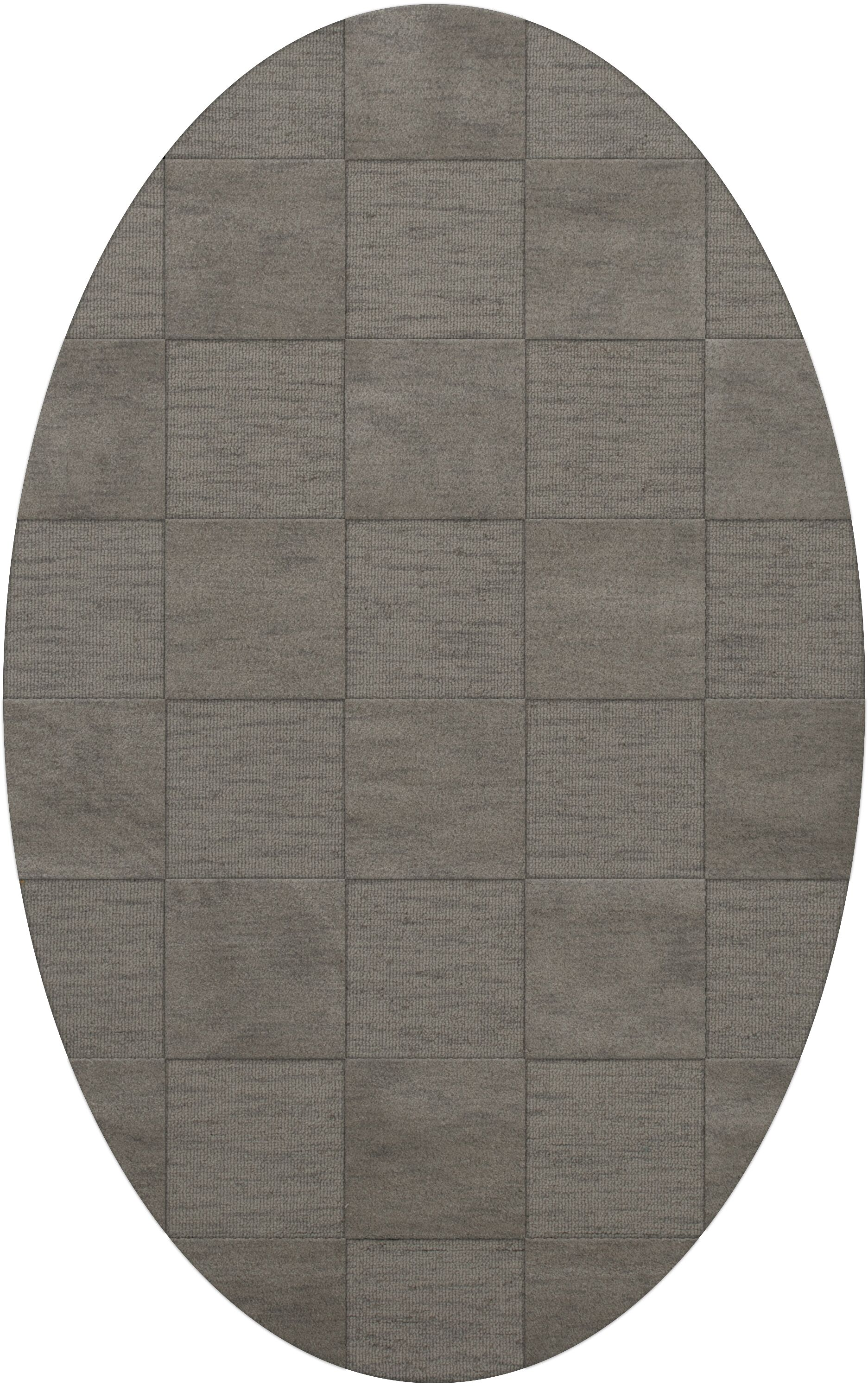 Dover Silver Area Rug Rug Size: Oval 3' x 5'