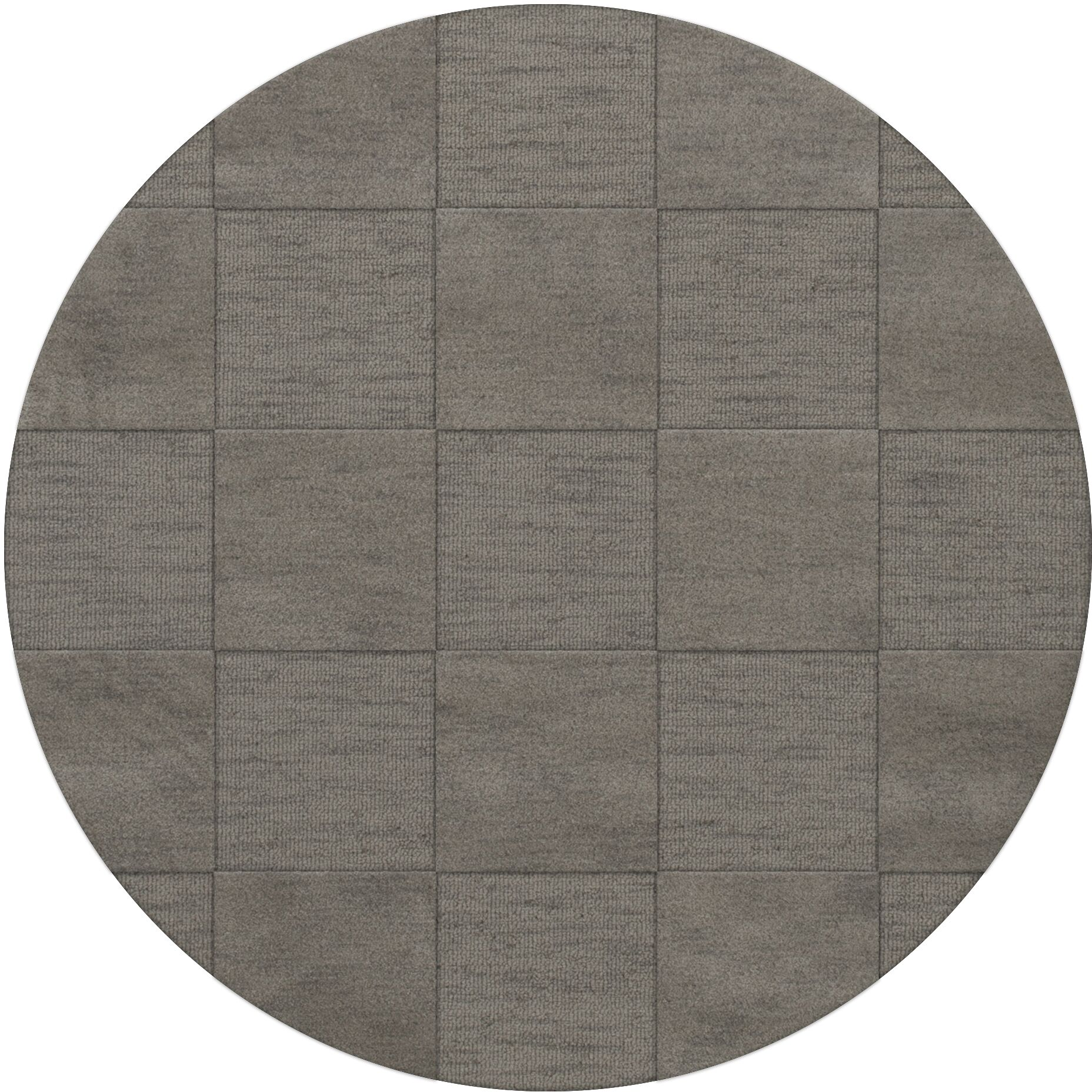 Dover Silver Area Rug Rug Size: Round 10'