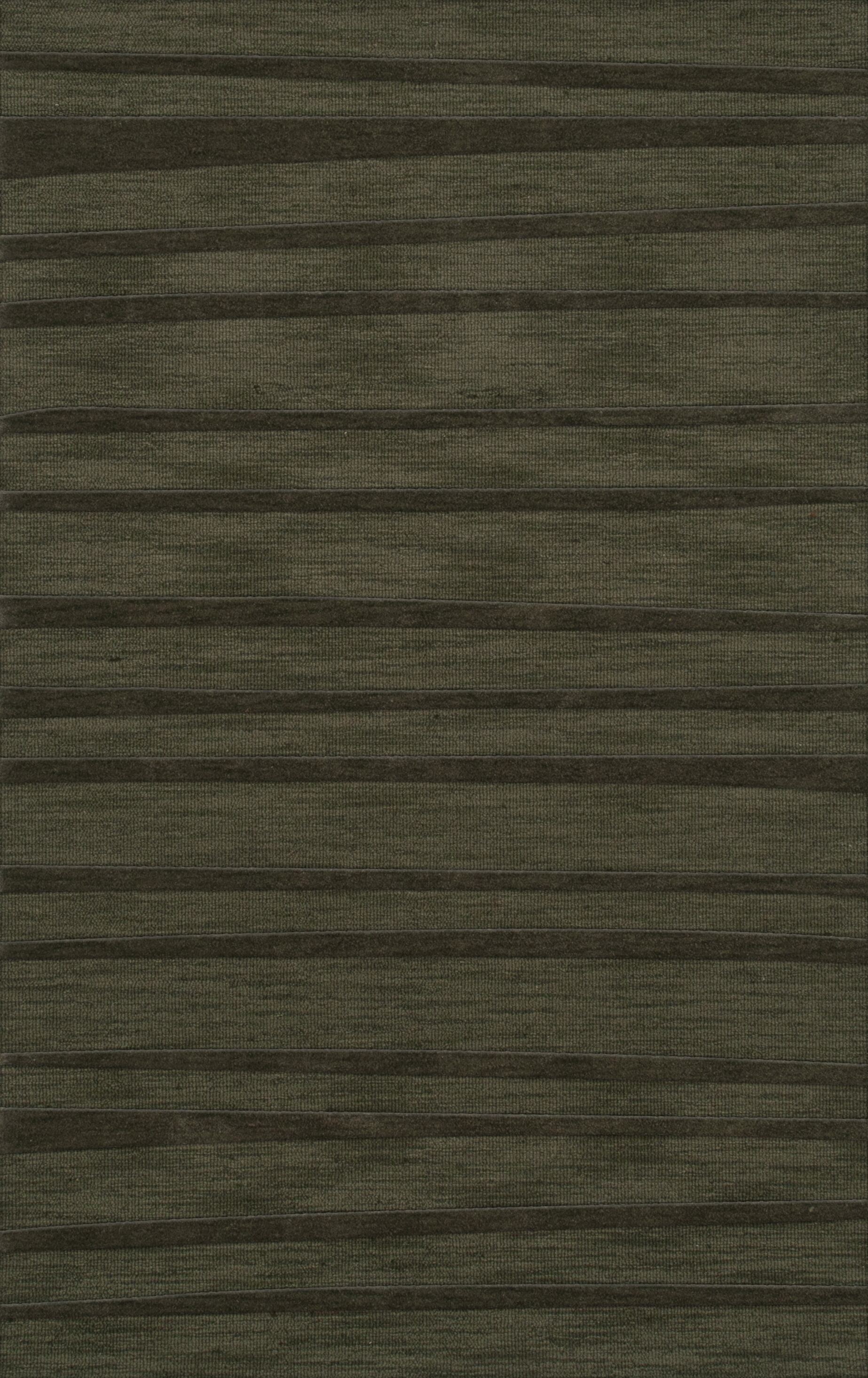 Dover Tufted Wool Fern Area Rug Rug Size: Rectangle 4' x 6'